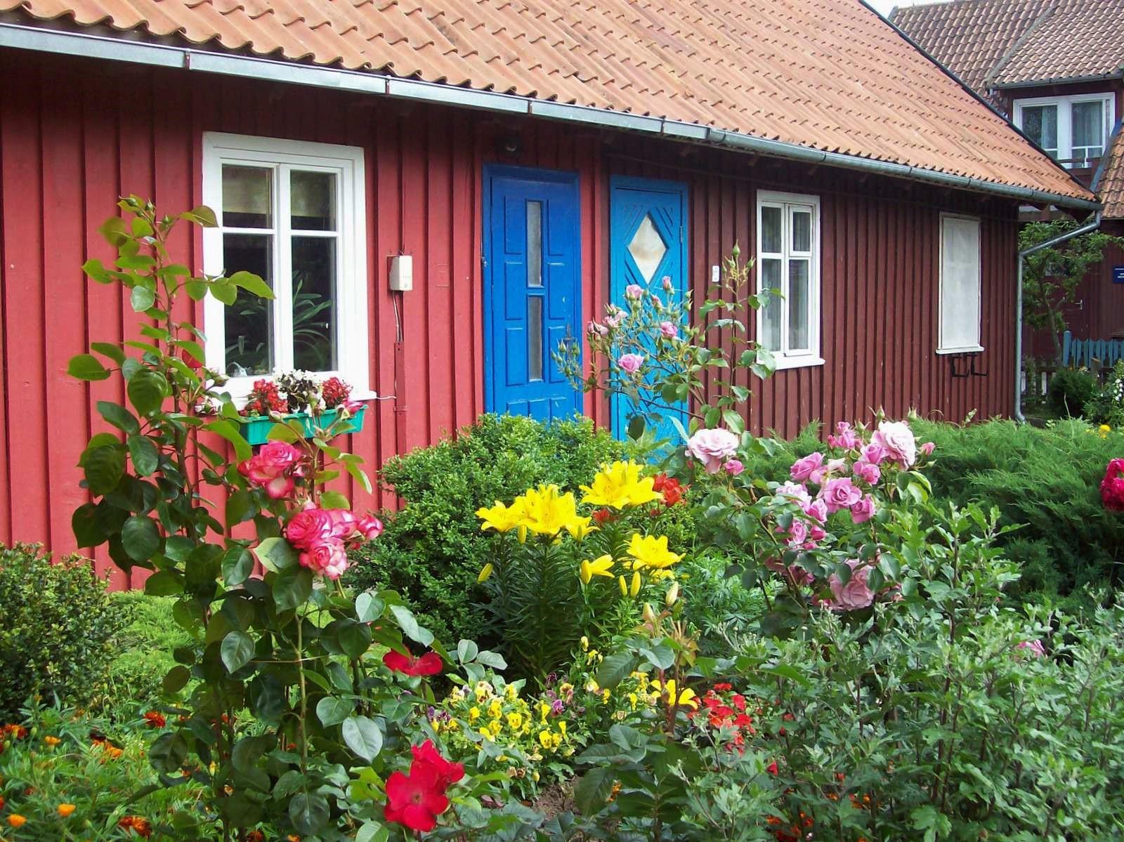 Haus in Nidden - Kurische Nehrung