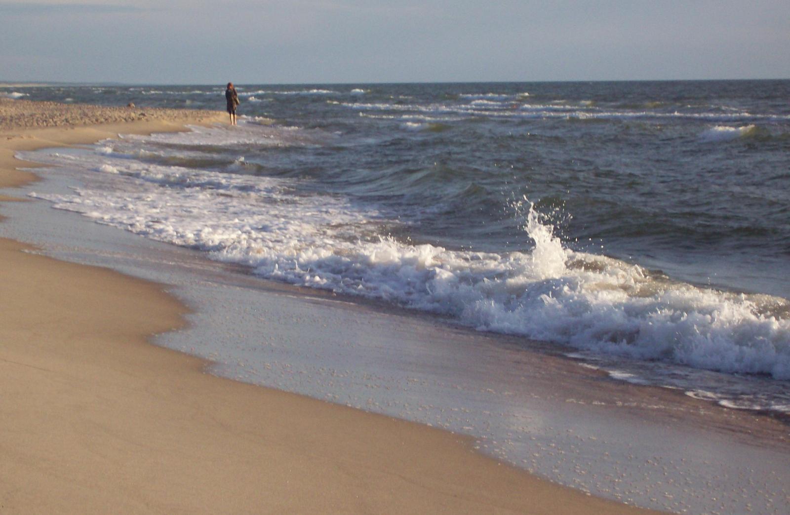 Bernsteinküste an der Ostsee auf der Kurischen Nehrung