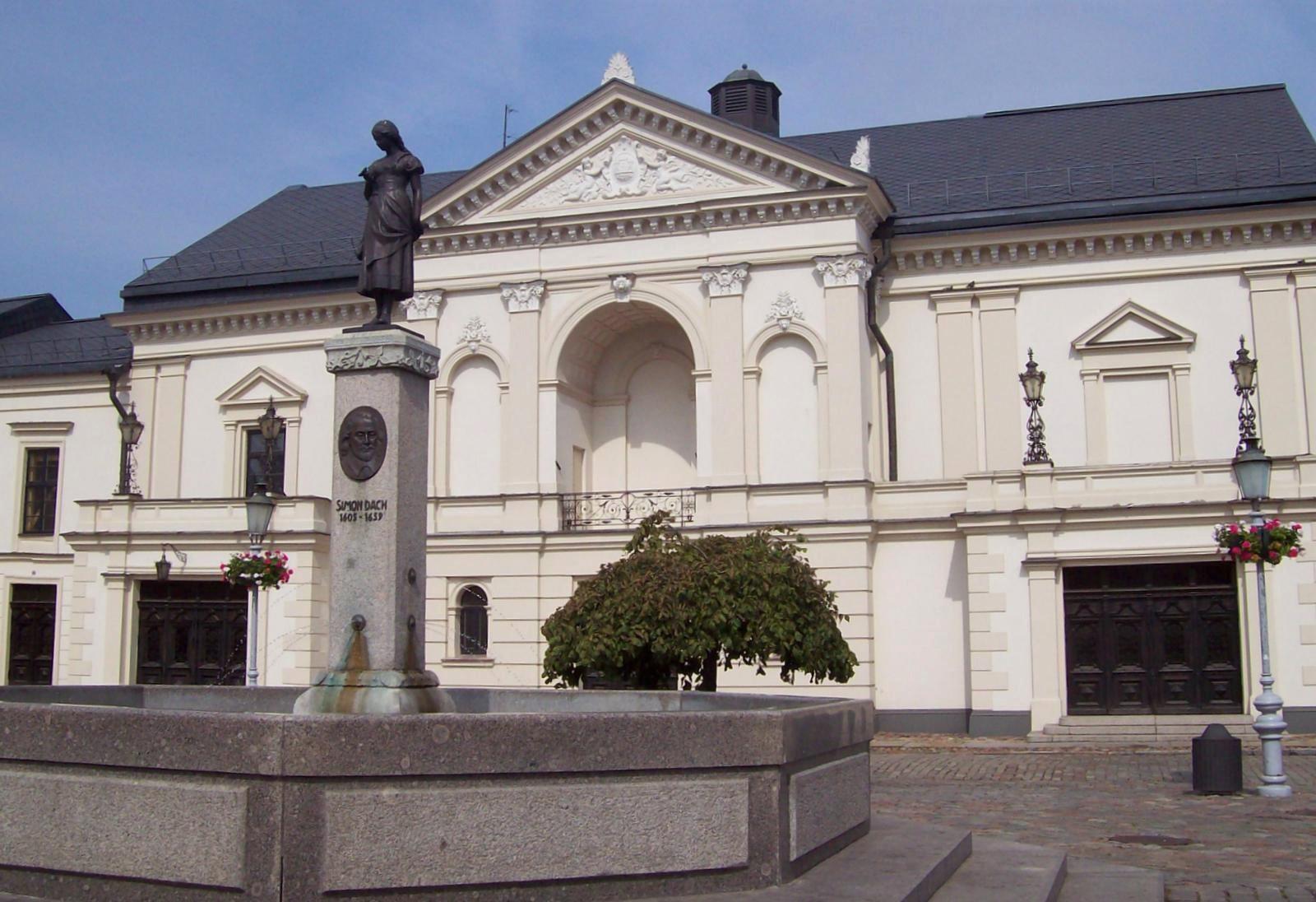 Theaterplatz von Memel - Litauen