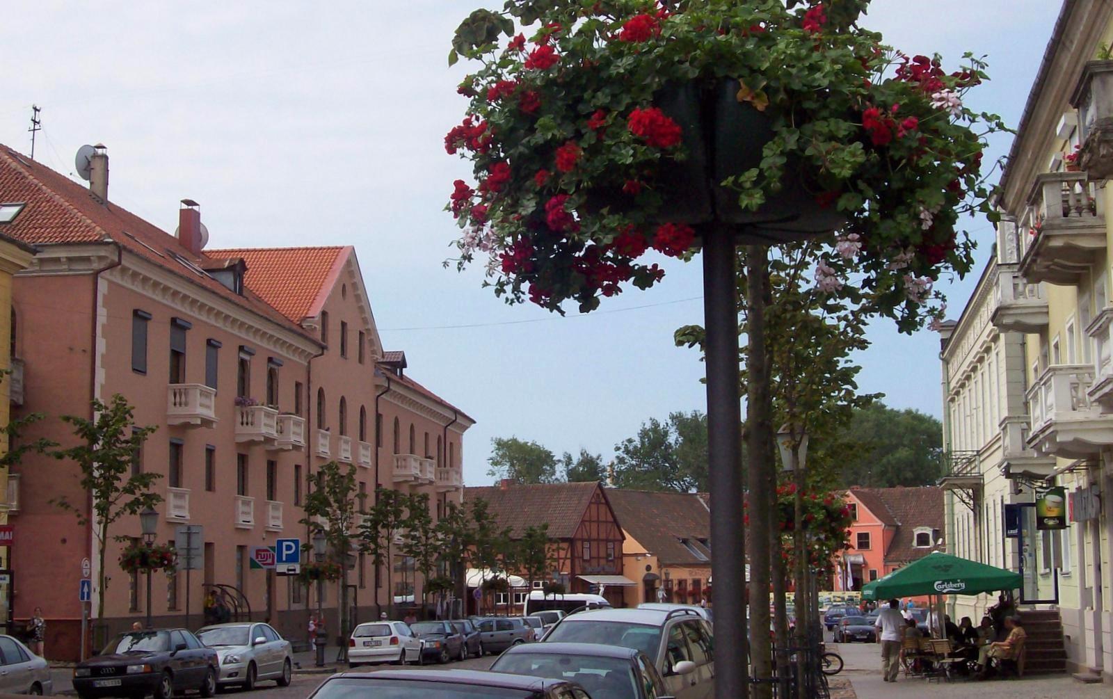 Marktstraße in Memel