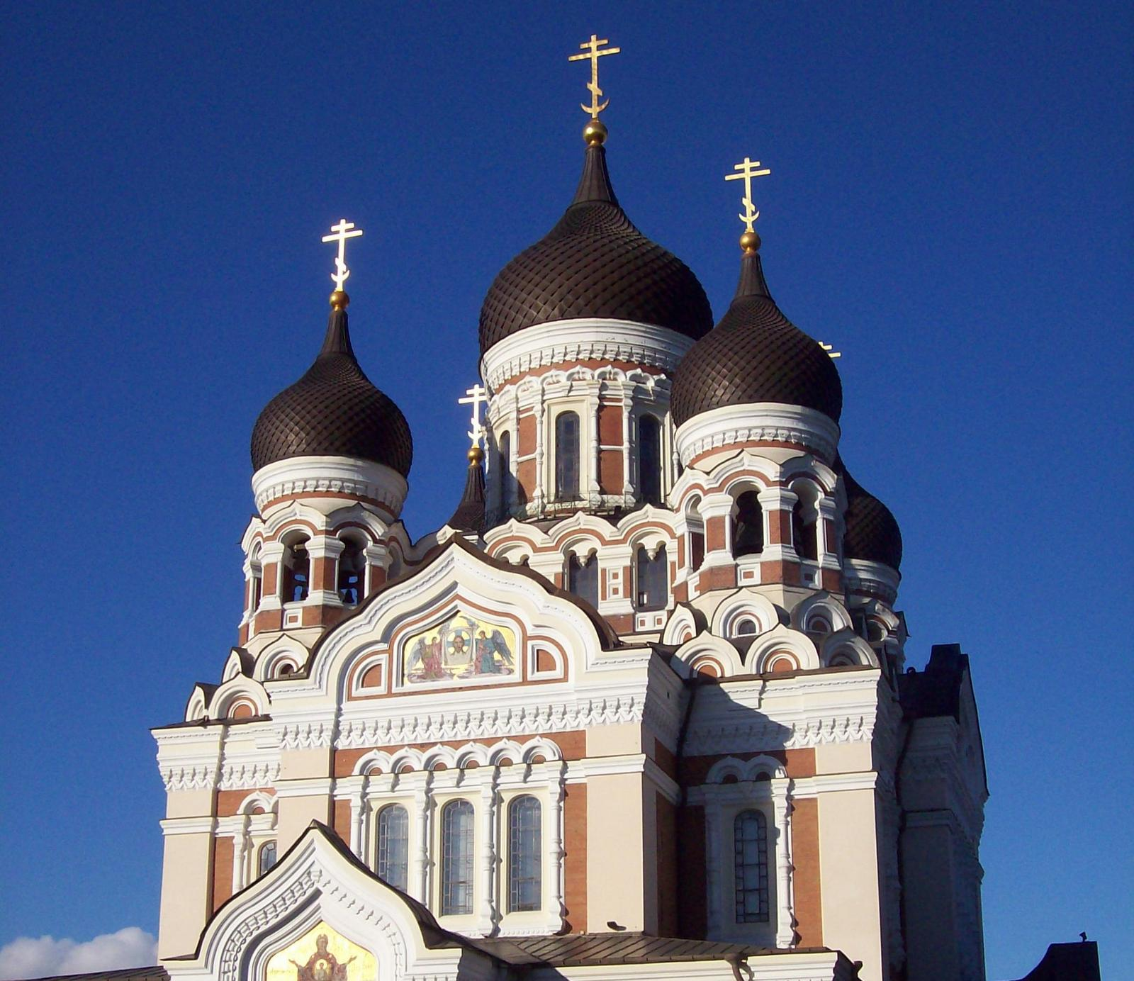 Alexander Nevski Kathedrale in Tallinn