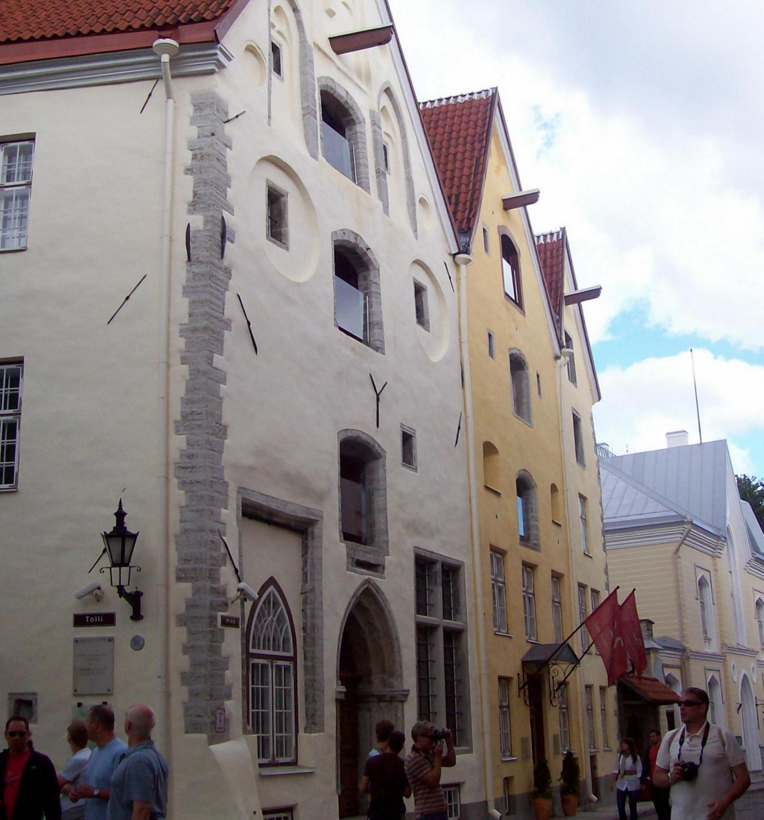 """Haus """"Drei Schwestern"""" in Tallinn"""