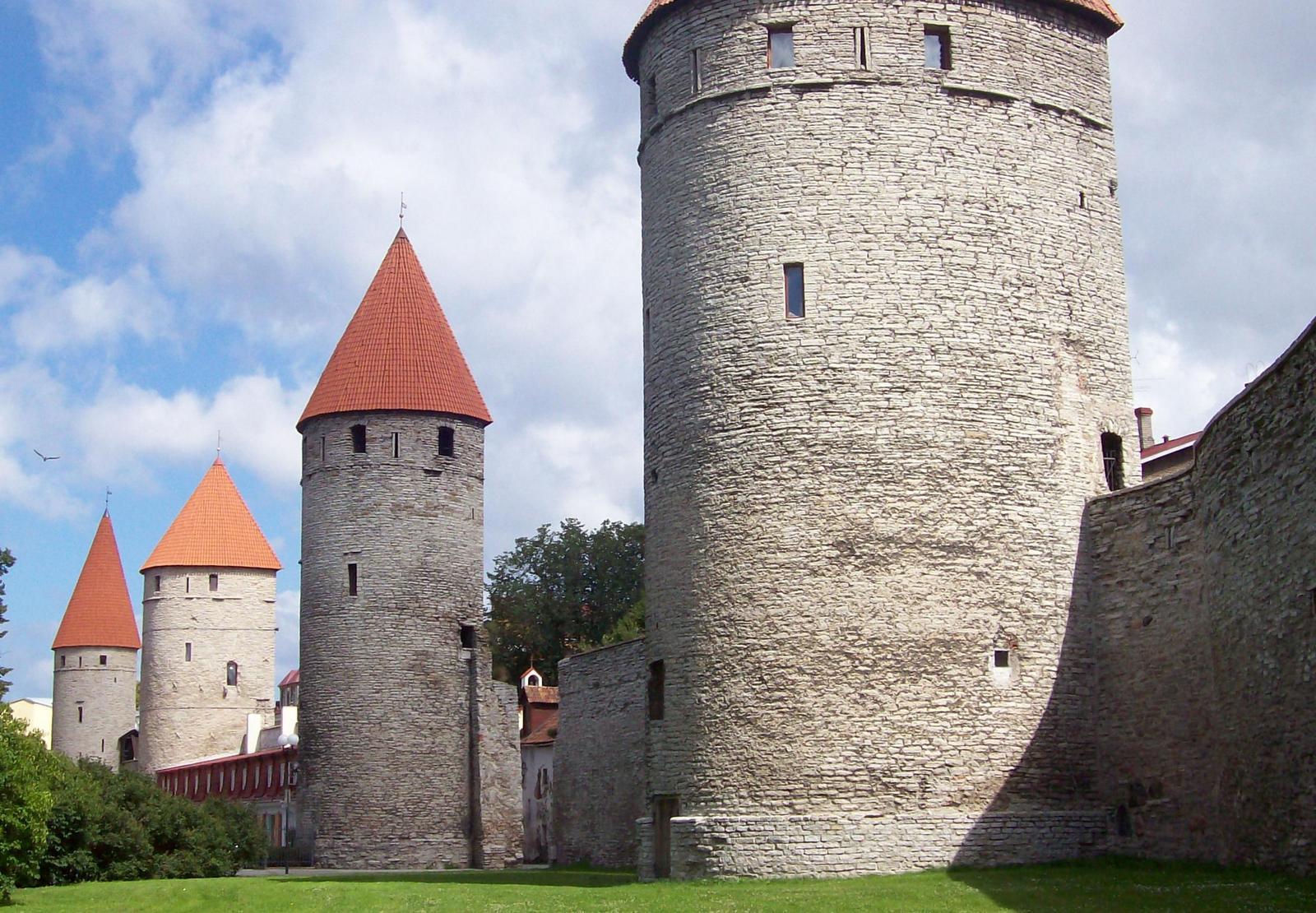 Nordwestliche Stadtmauer von Reval