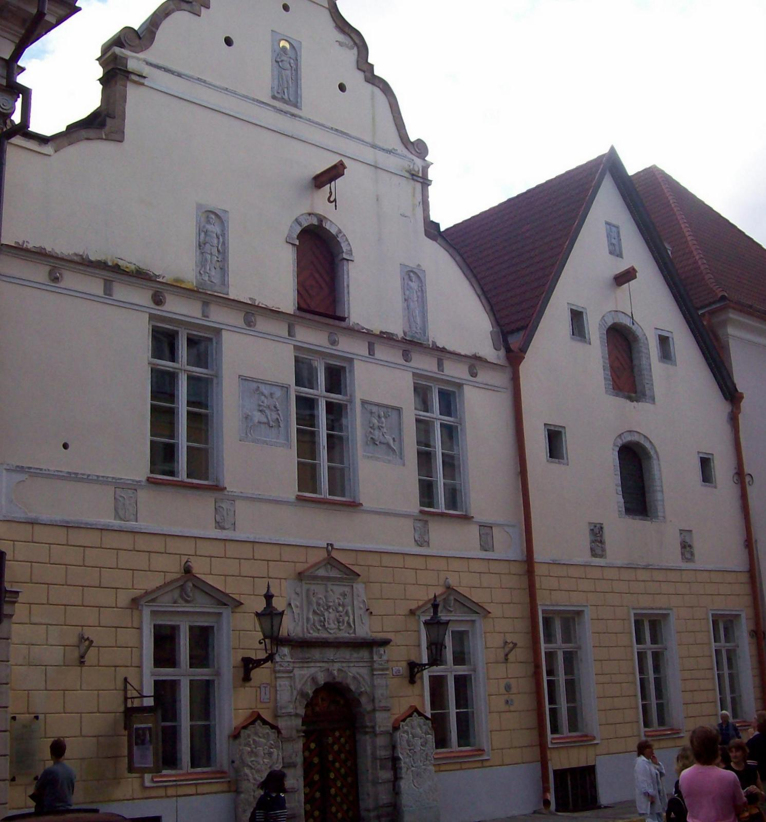 Langstraße Reval - Schwarzhäupterhaus