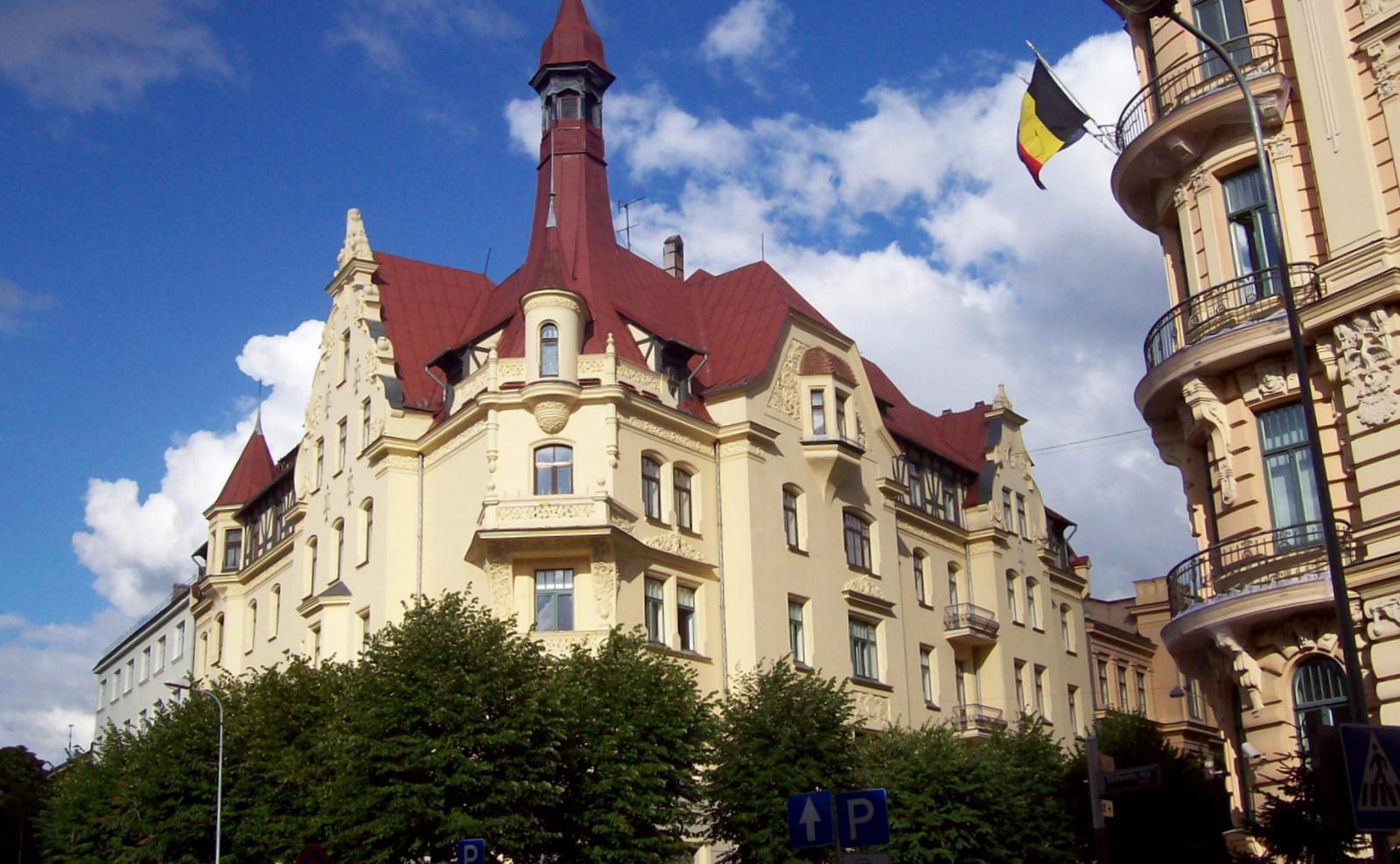 Alberta Iela 12, Riga