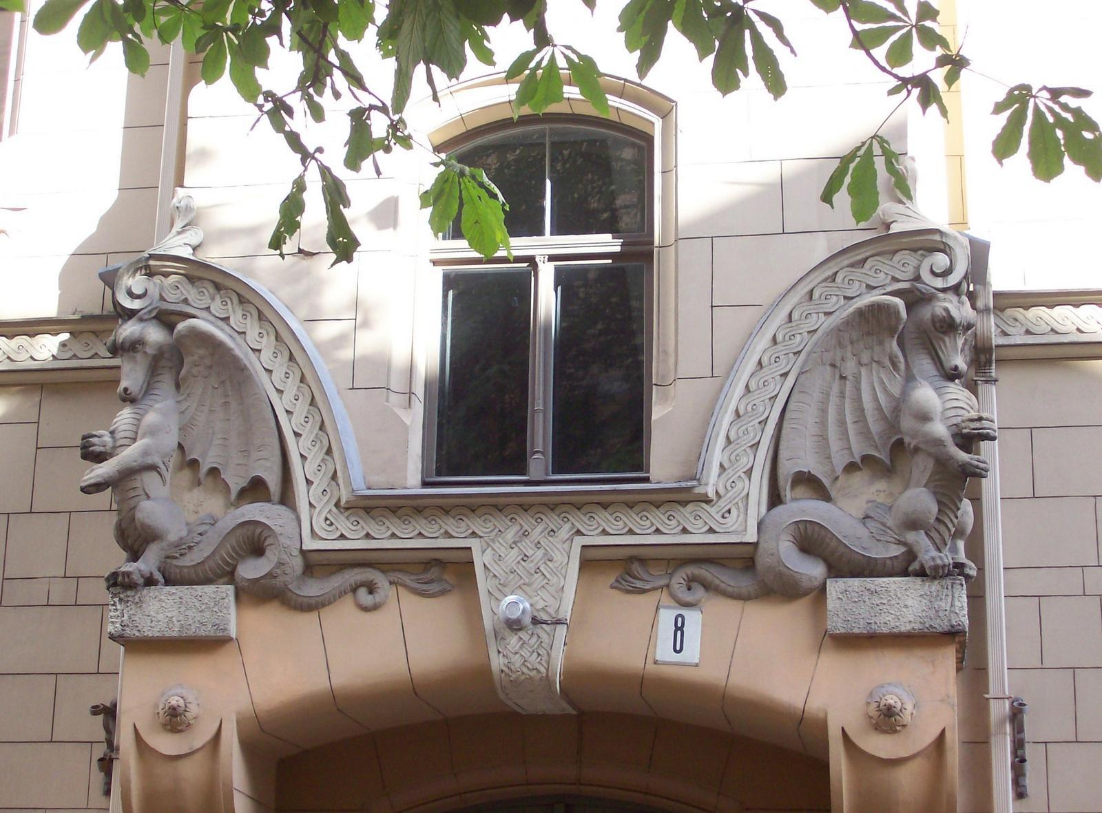 Antonijasielā No. 8, Riga
