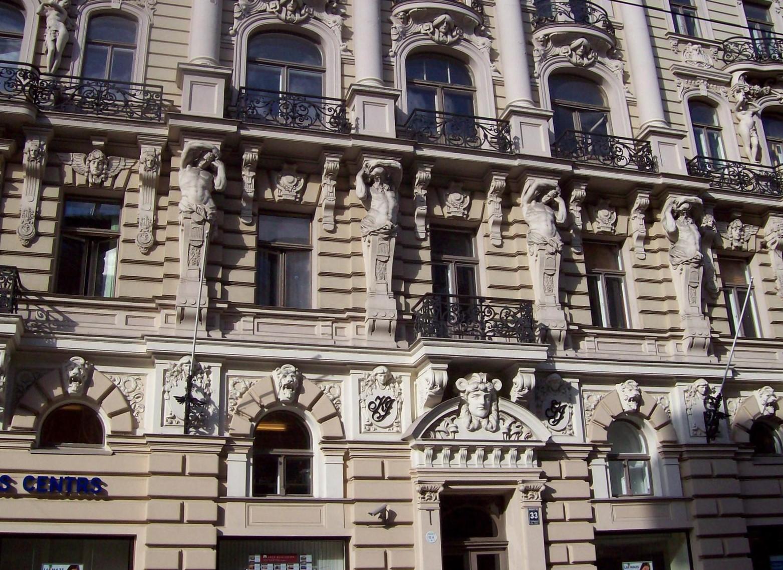 Elisabetes Iela 33, Riga