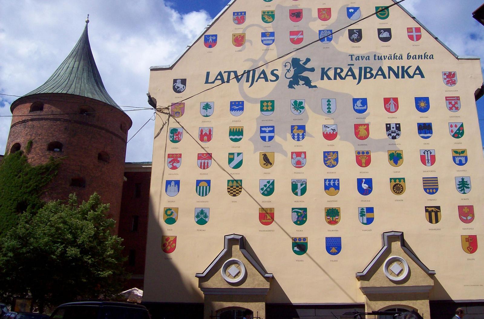 Jakobskasernen und Pulverturm, Riga