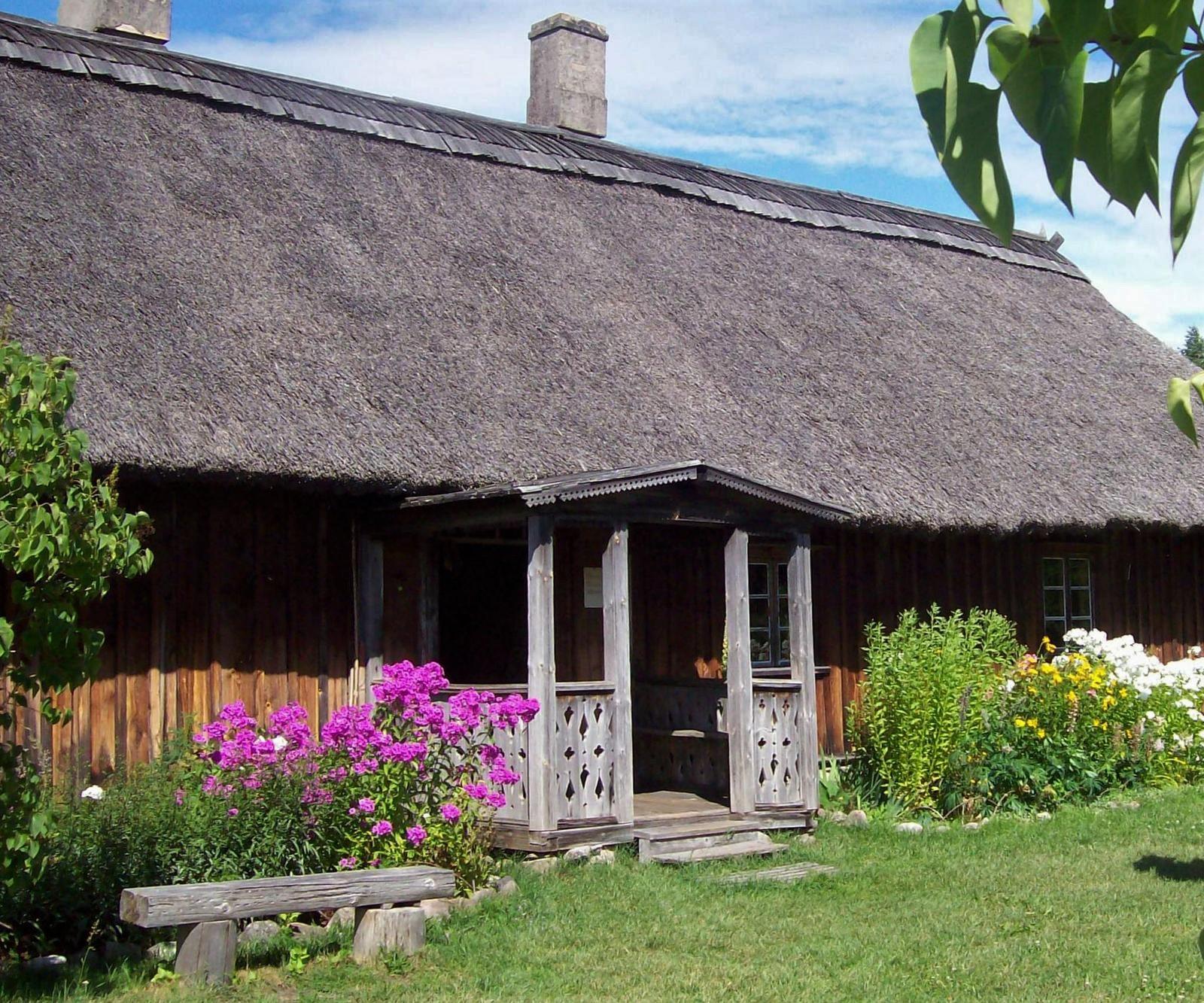 Bauernhaus aus Vidzeme, Ethnographisches Freilichtmuseum von Lettland