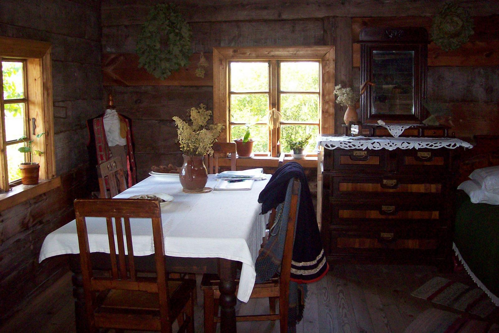 Fischerhaus in Kurzeme - Ethnographisches Freilichtmuseum von Lettland