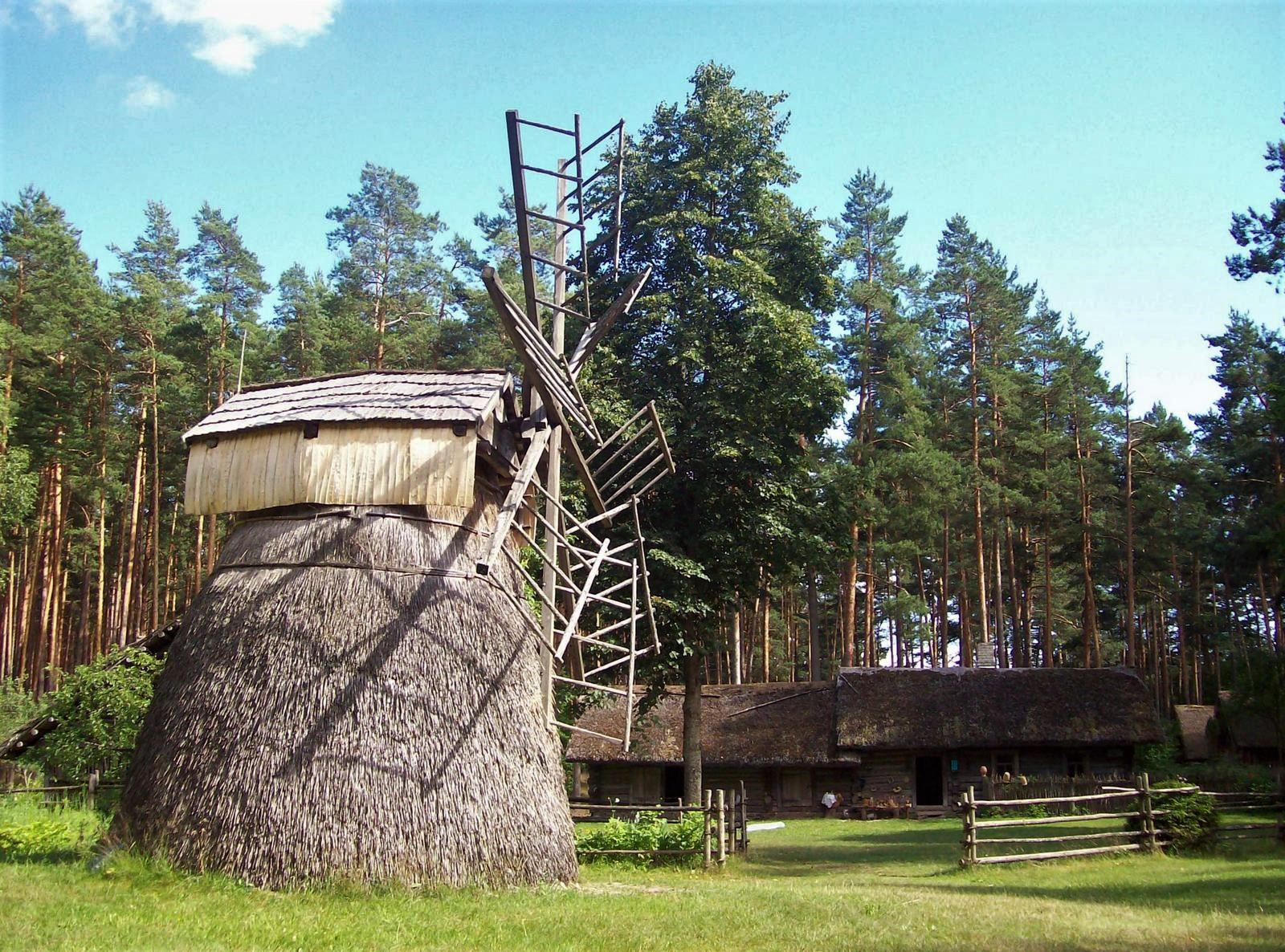 Ethnographisches Freilichtmuseum von Lettland, Windmühle