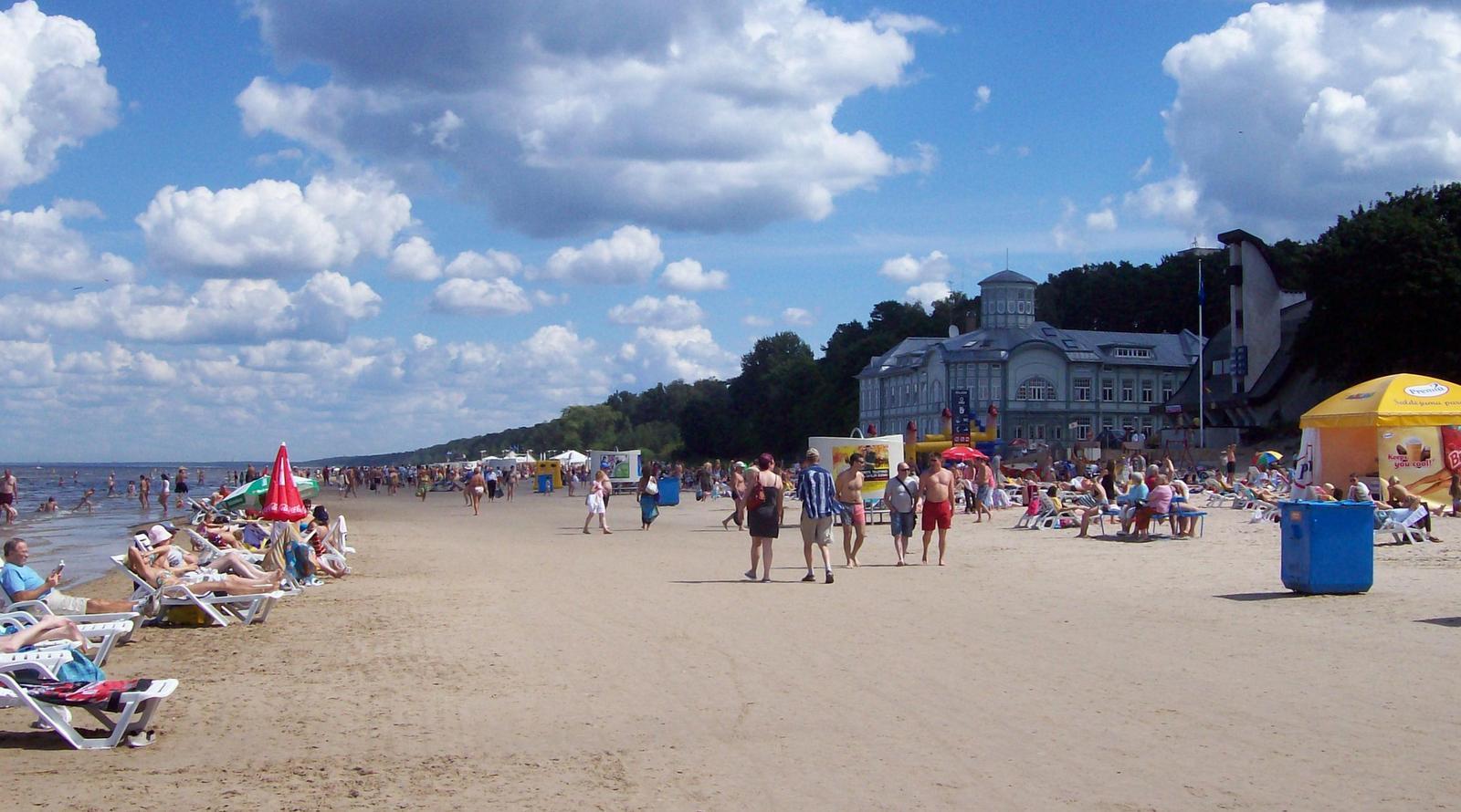 Majori Beach, Jurmala