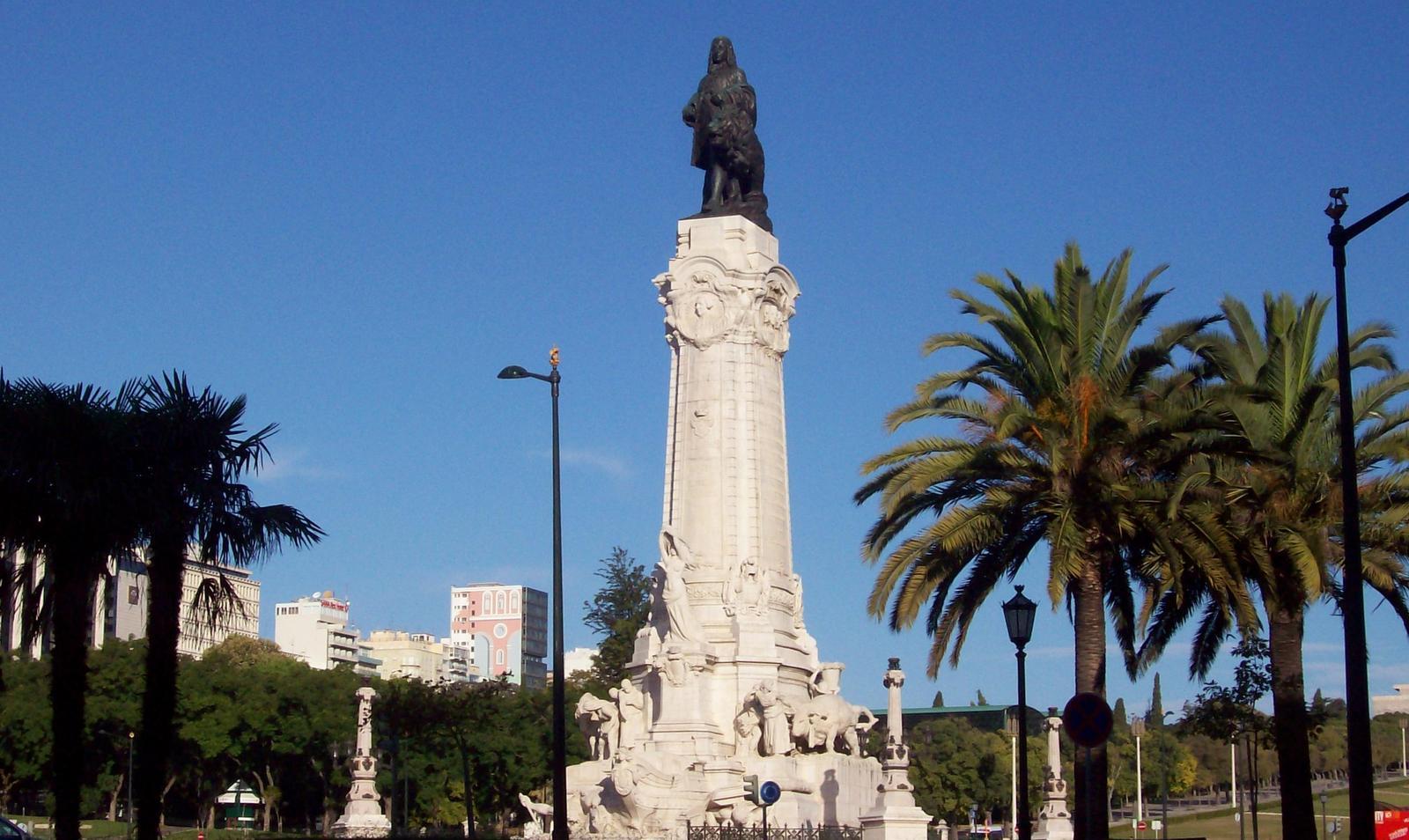 Rotunda Lissabon Portugal