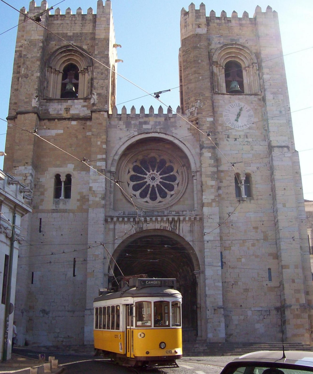 Sé Lissabon Portugal