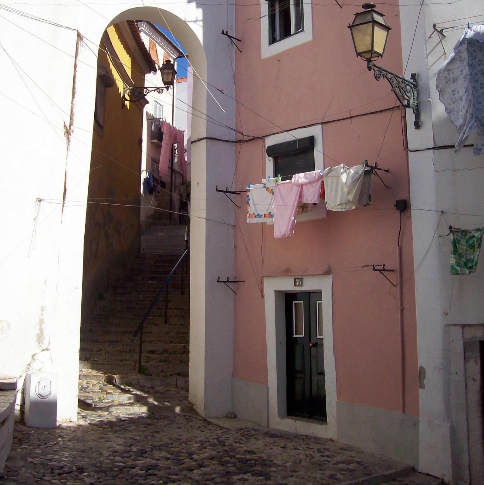 In der Alfama - Lissabon Portugal