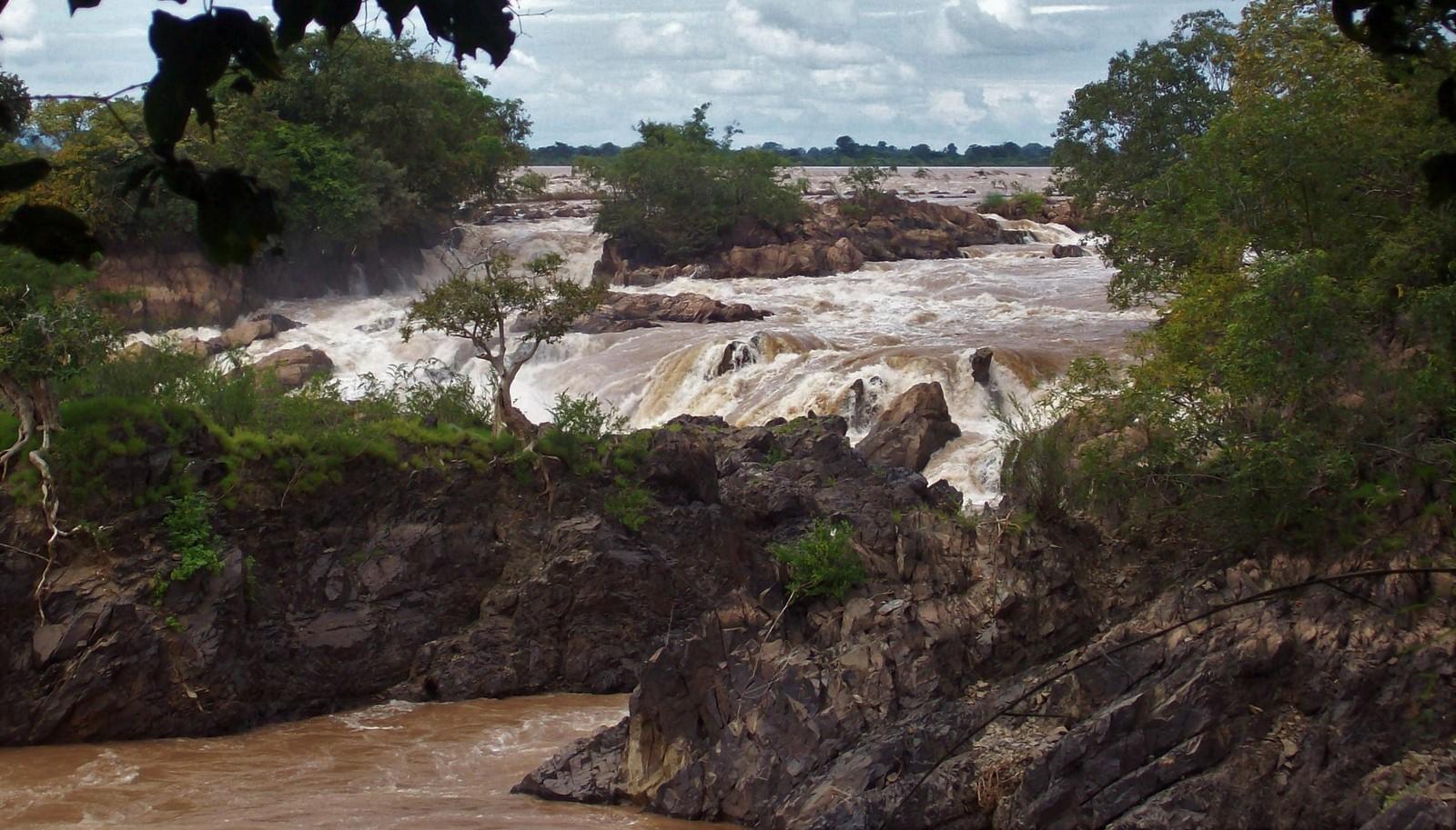 Mekong Wasserfälle in Laos