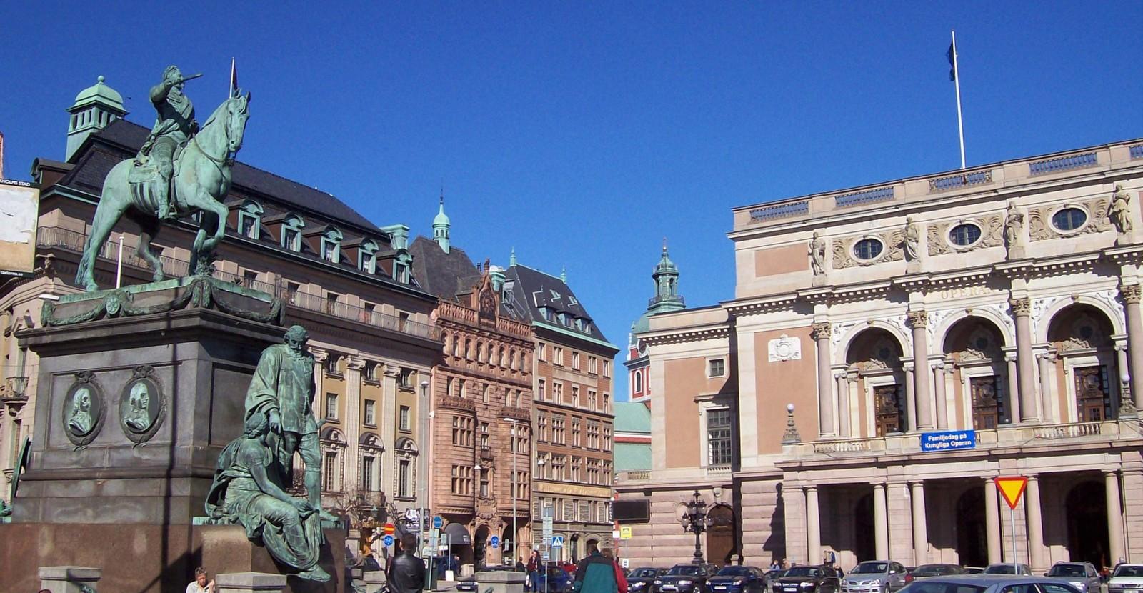 Opernhaus Stockholm