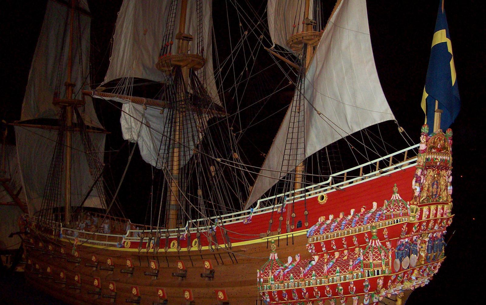 Im Vasa Museum auf Djurgarden
