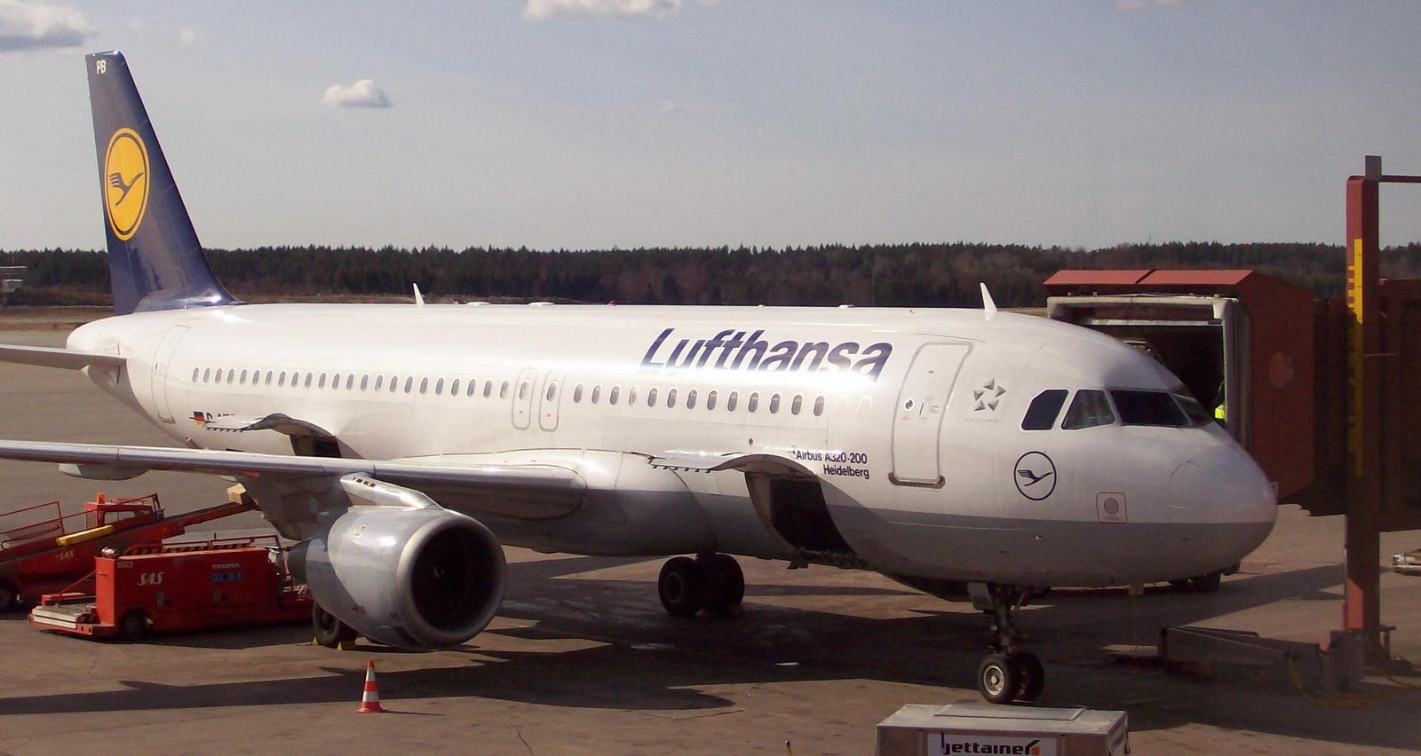 Lufthansa in Stockholm-Arlanda