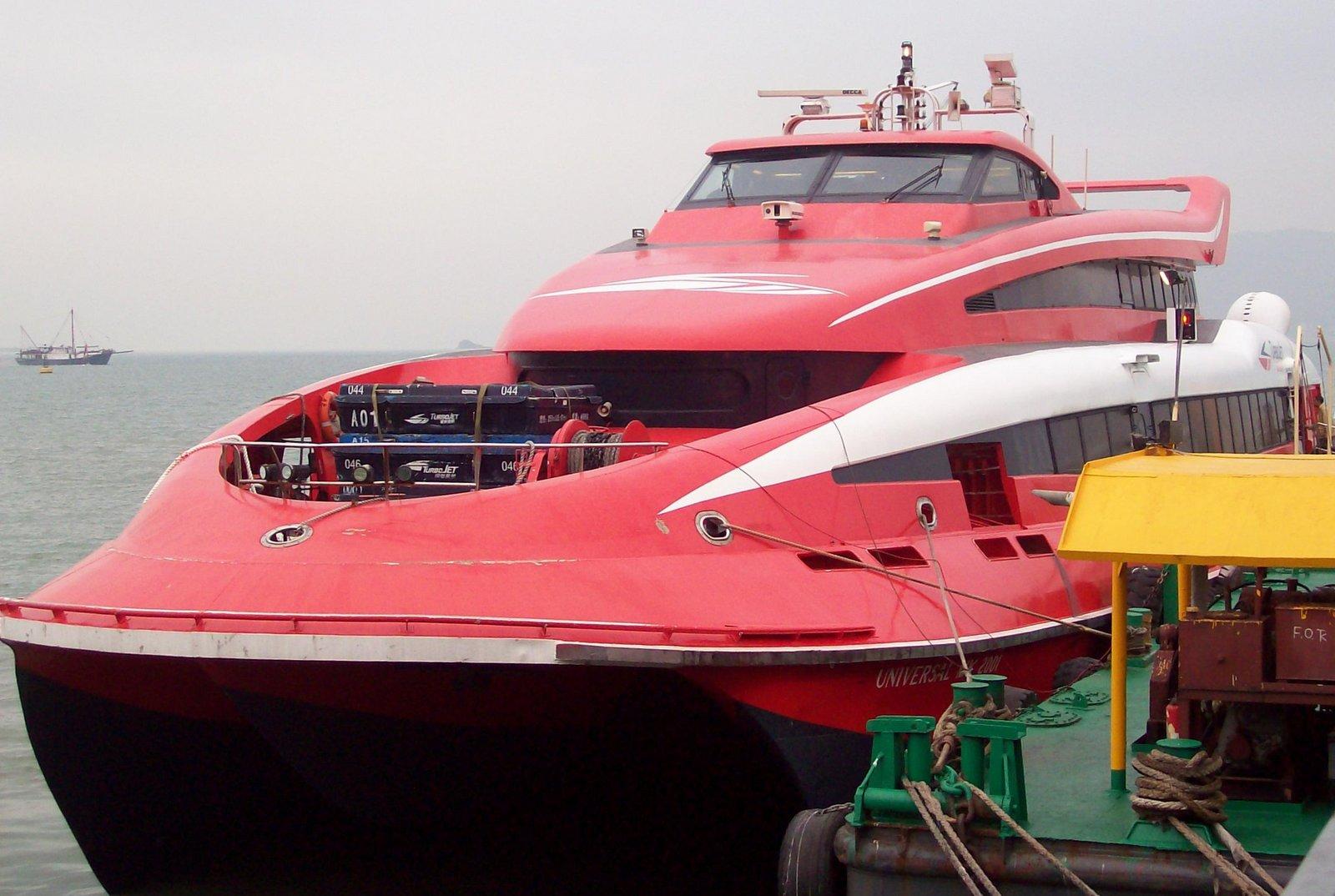 Cotai Water Jet nach Macau