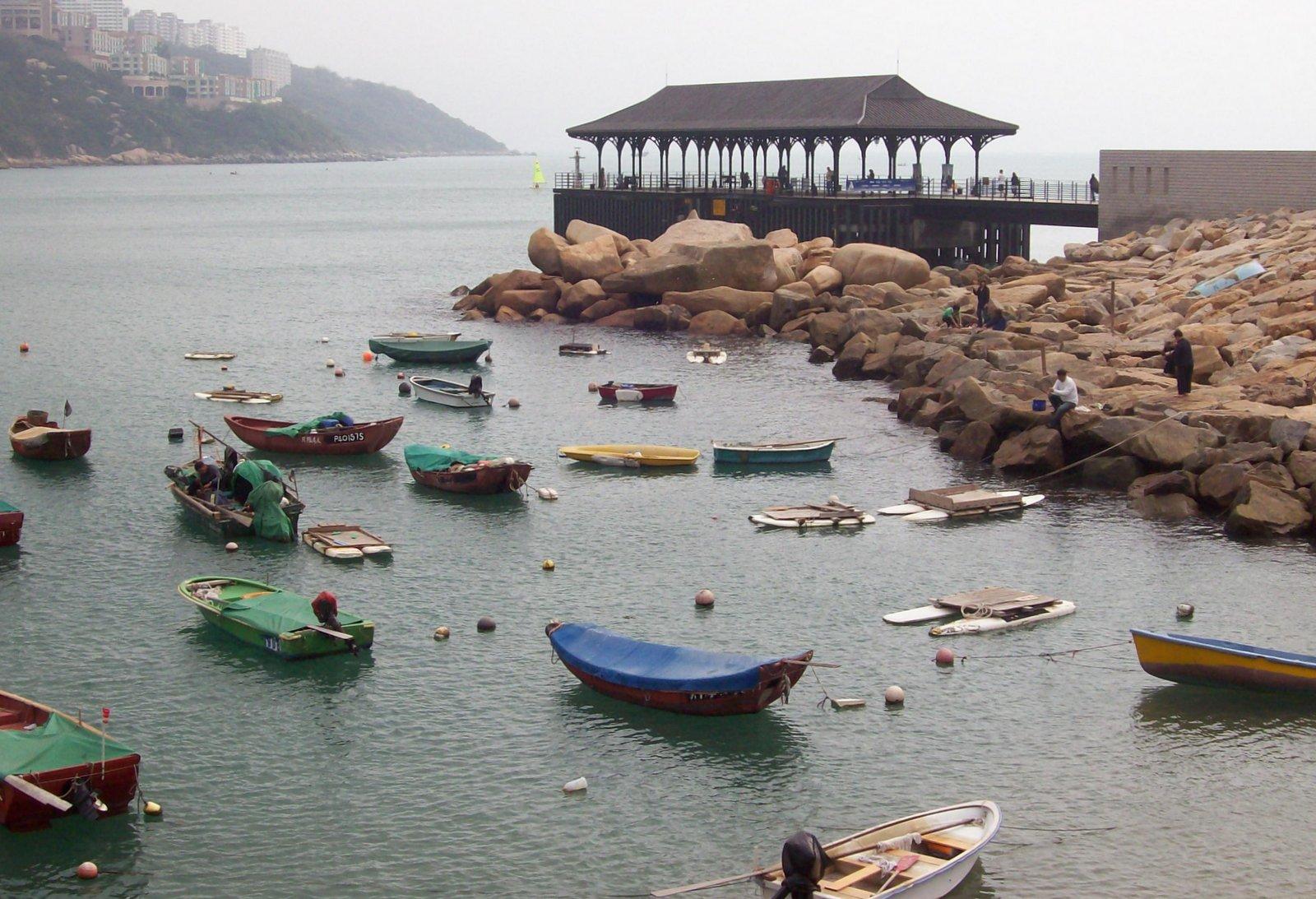 Blake Pier in Stanley - Hongkong Island