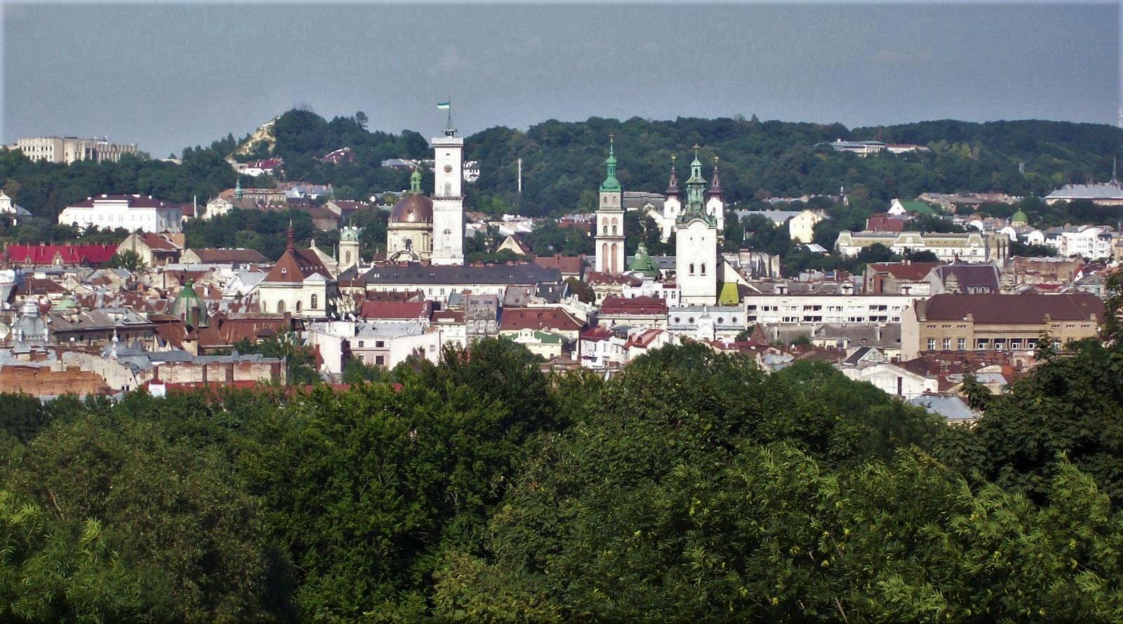 Stadtansicht Lemberg