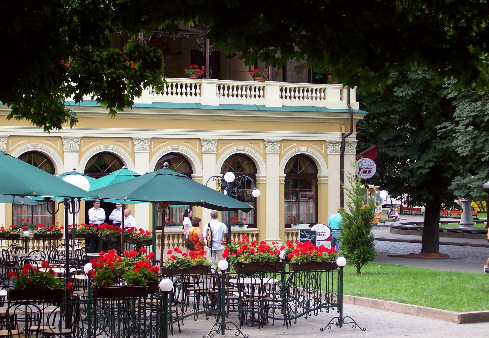 Café in Lwów