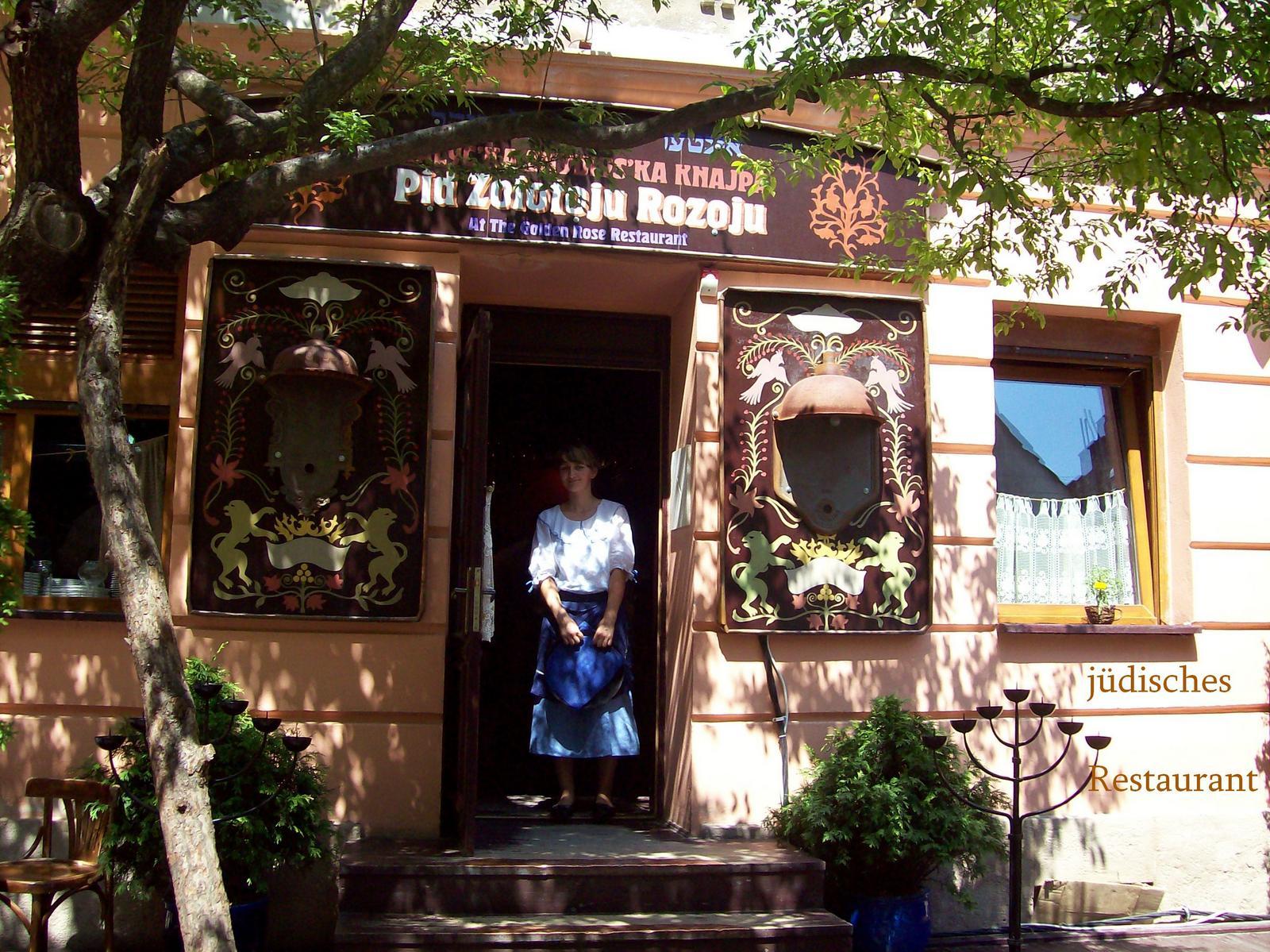 Jüdisches Restaurant zur Goldenen Rose in Lemberg