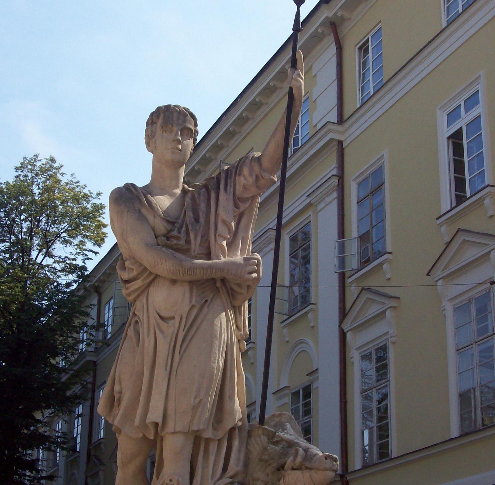Diana-Brunnen in Lemberg