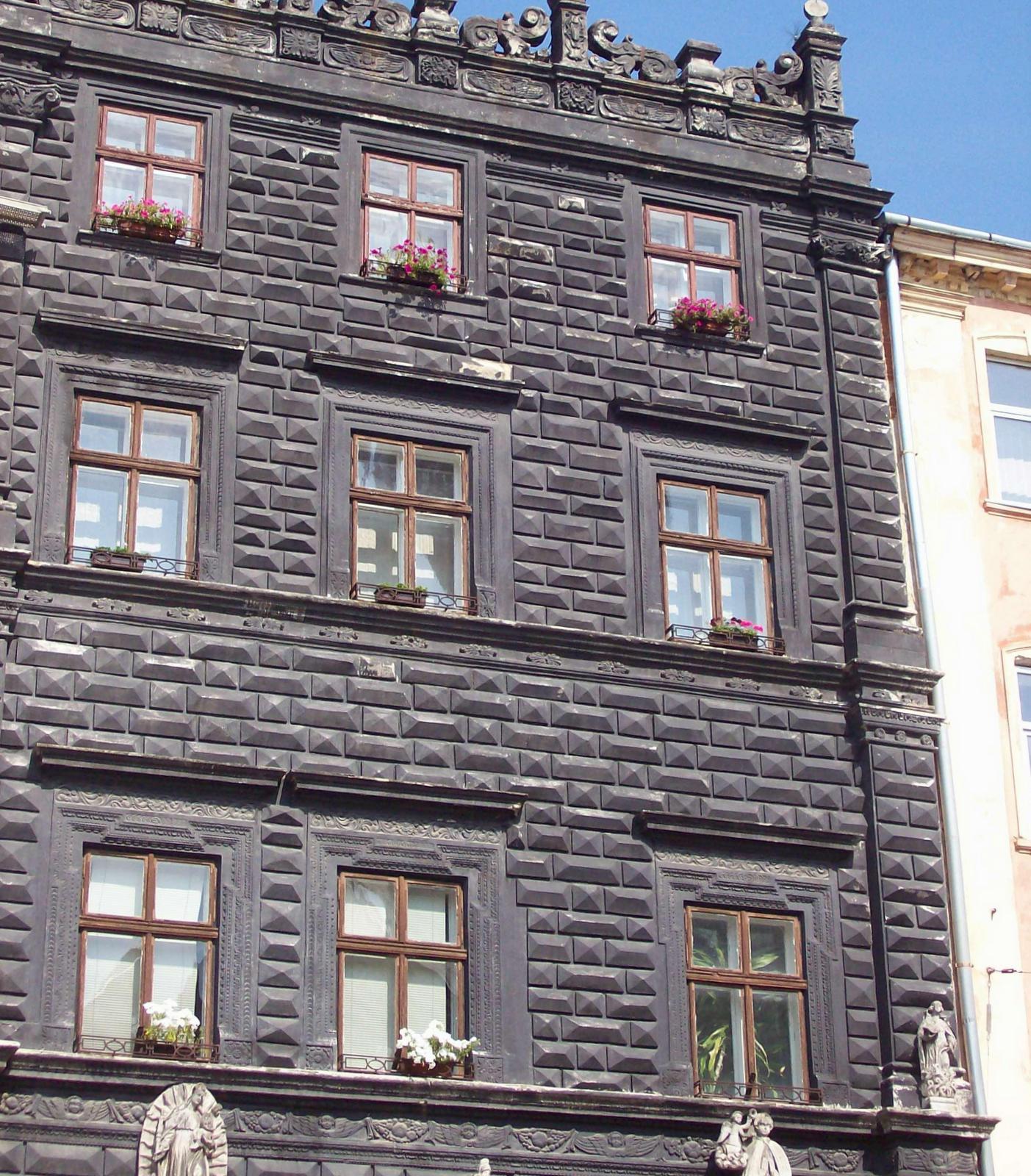 Schwarzes Haus in Lemberg