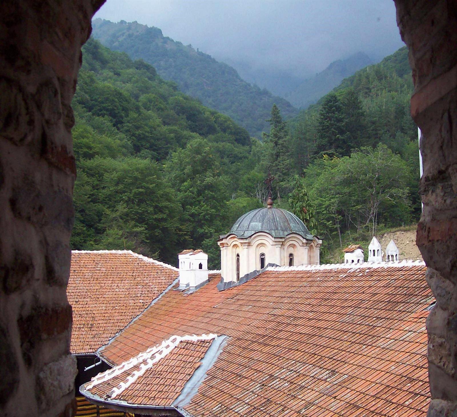 Rila Gebirge mit Kloster