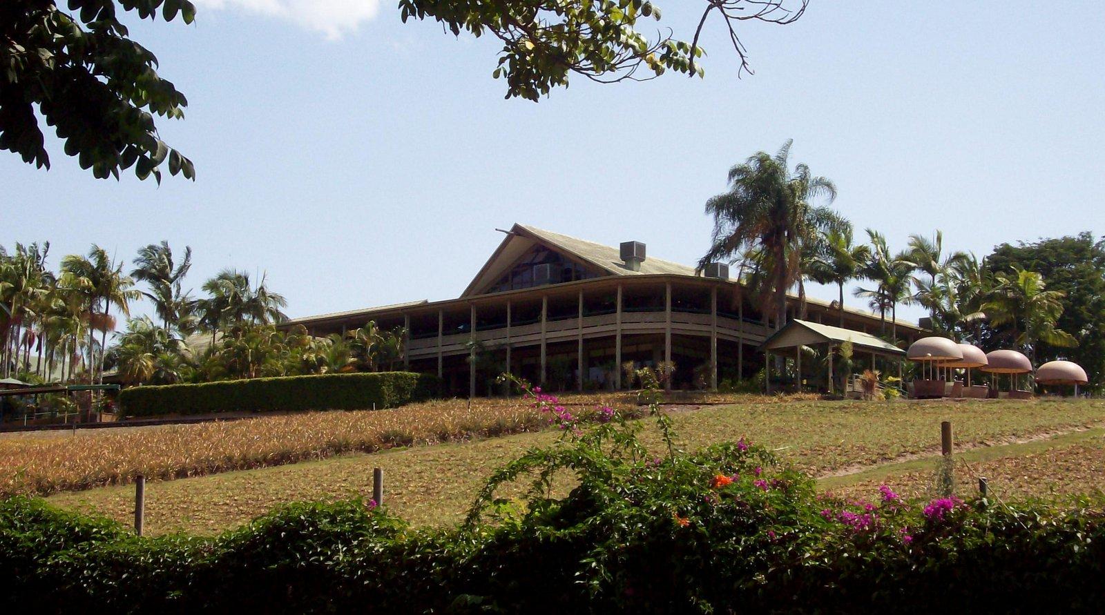 Sunshine Plantation mit Macadamia Mobil