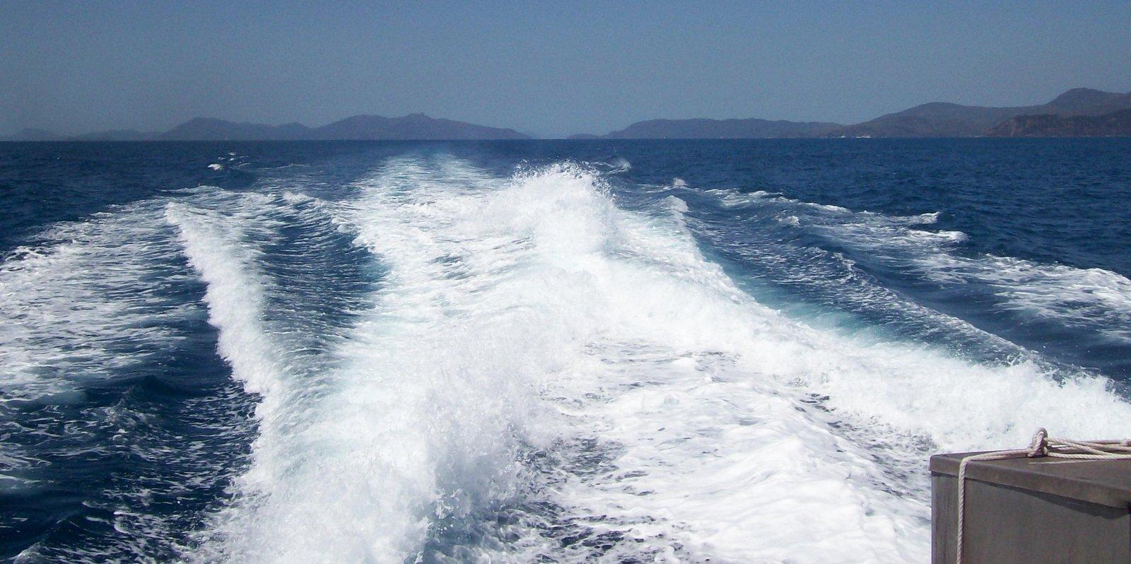 Fahrt durch die Hook Passage