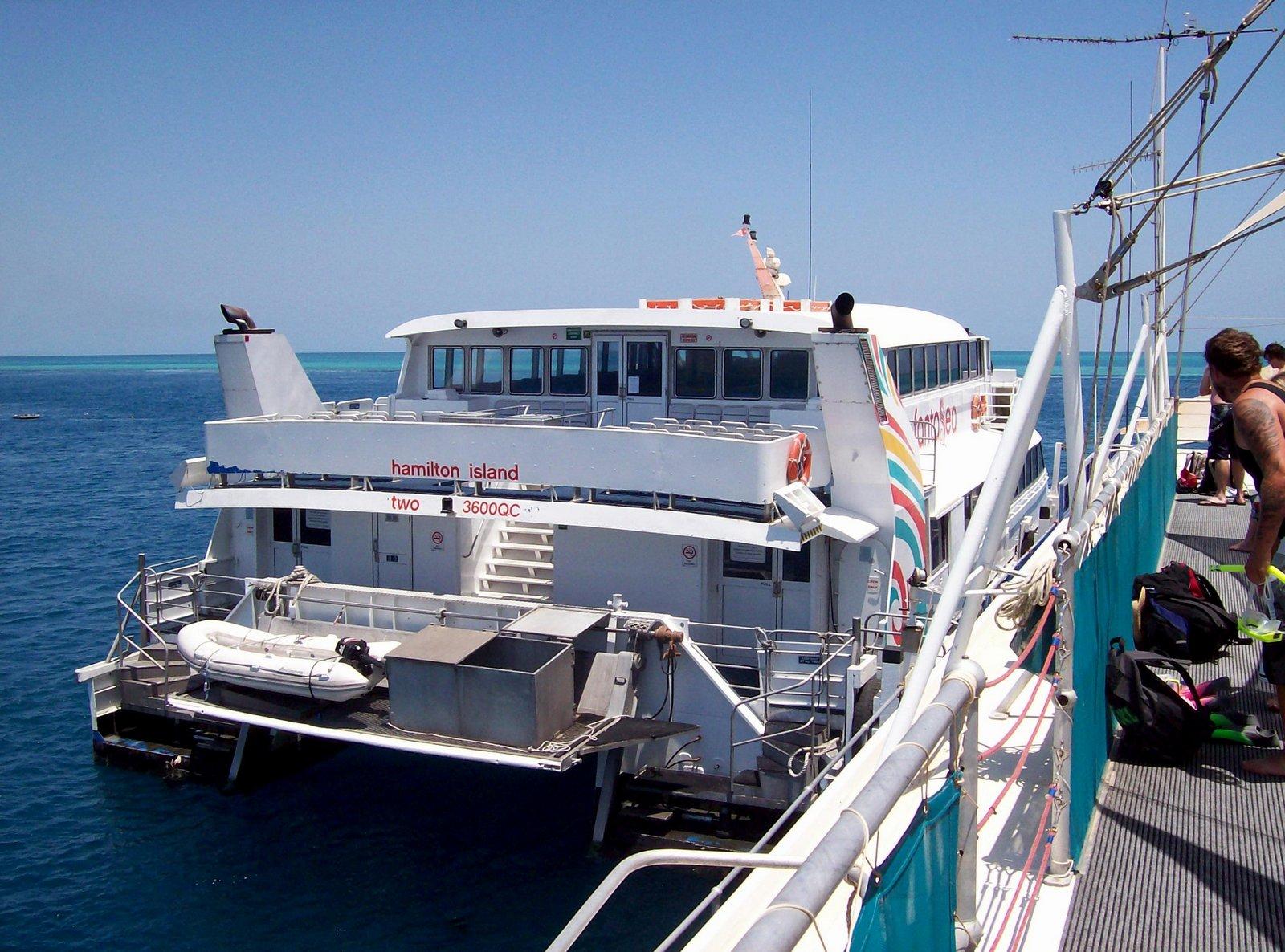 Am Great Barrier Reef in Queensland