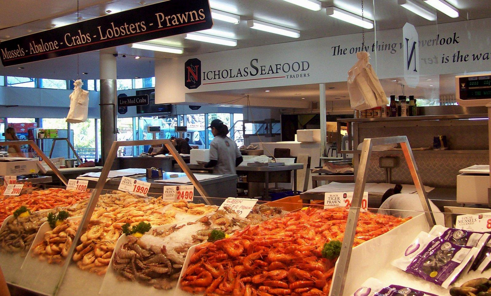 Fischmarkt in Sydney