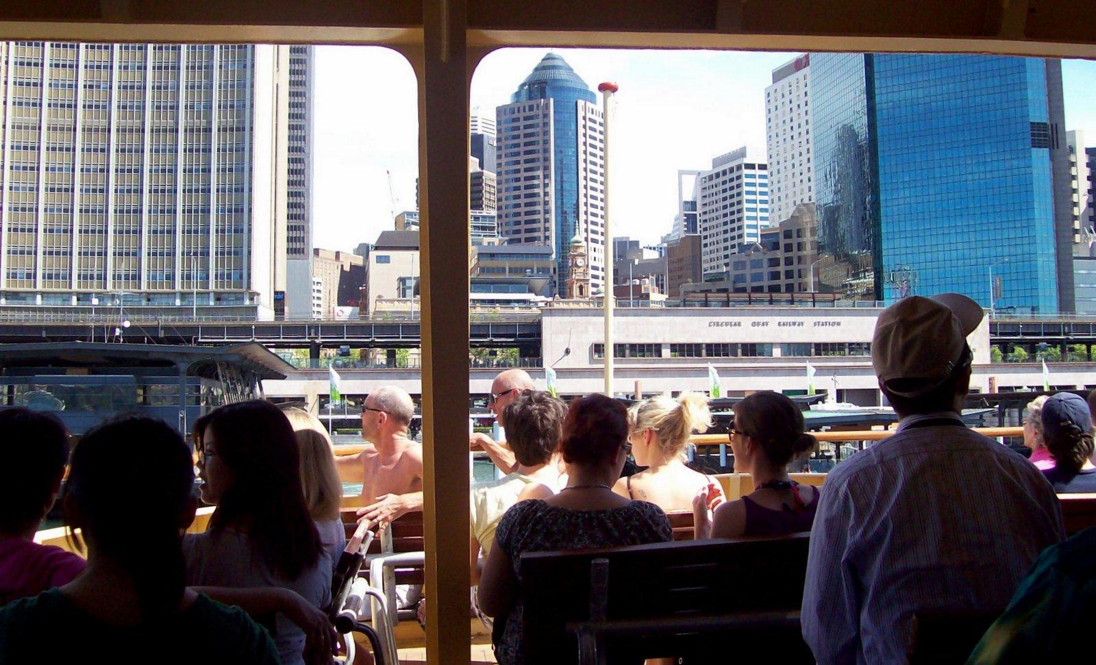 Am Circular Quay Sydney