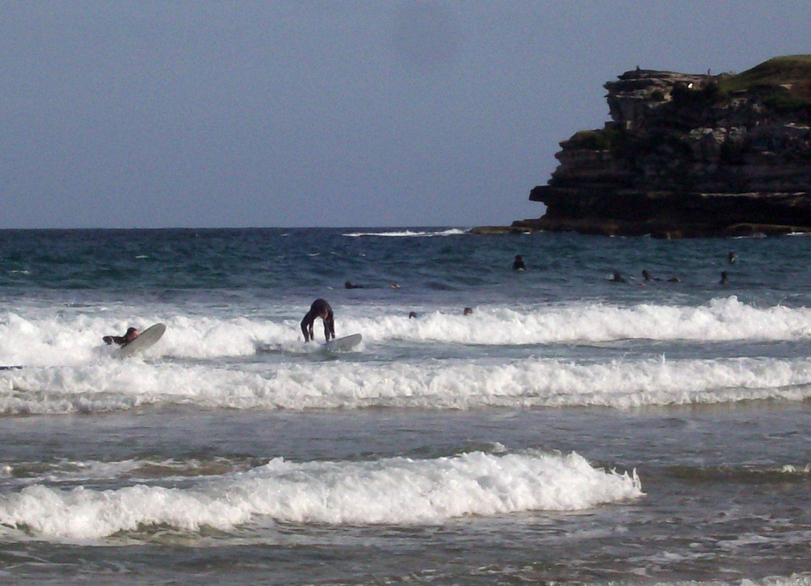 Surfer in Bondi Beach