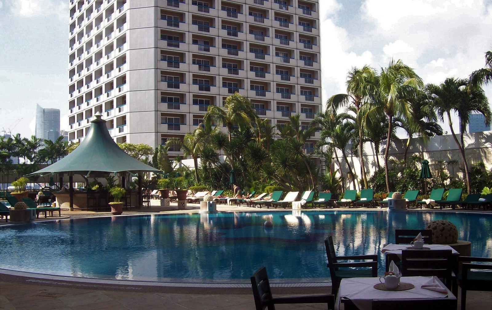 Fairmont Hotel Pool - Singapur