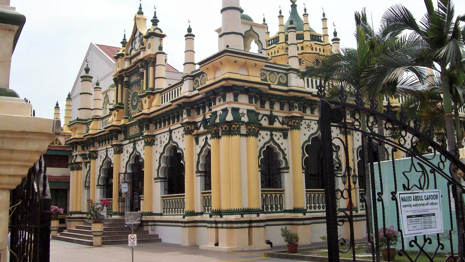 Abdul Gaffour Moschee Singapur