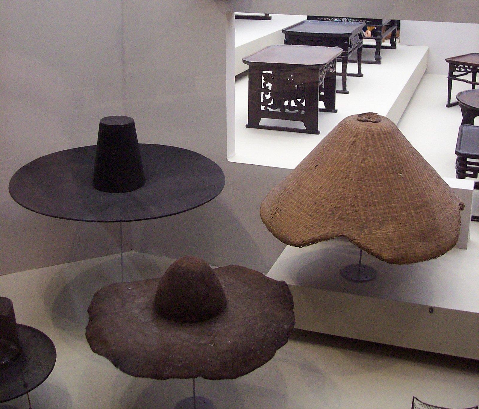 Das Nationale Volkskundemuseum von Korea - Hutkollektion