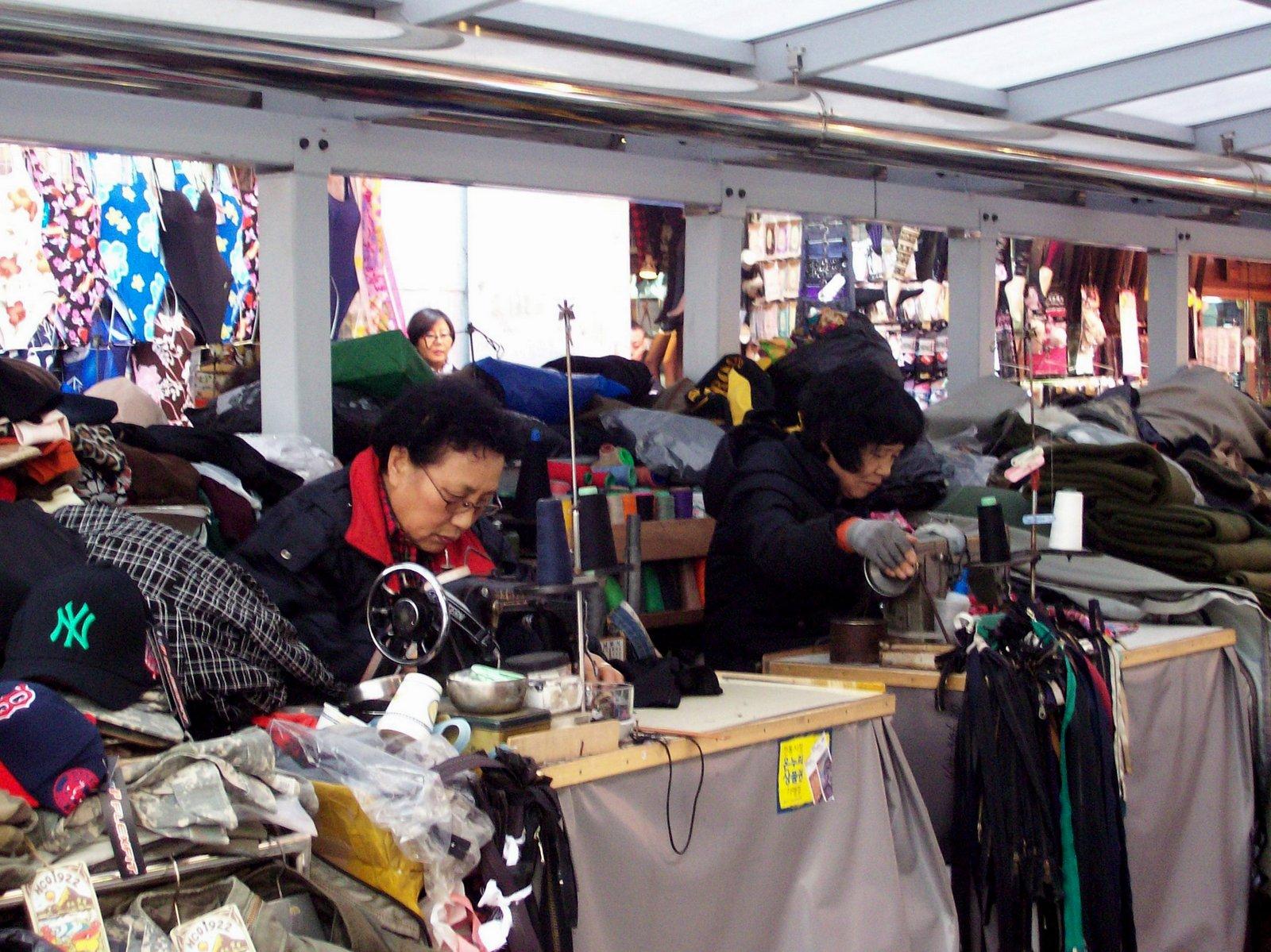 der Namdaemun Markt - Seoul