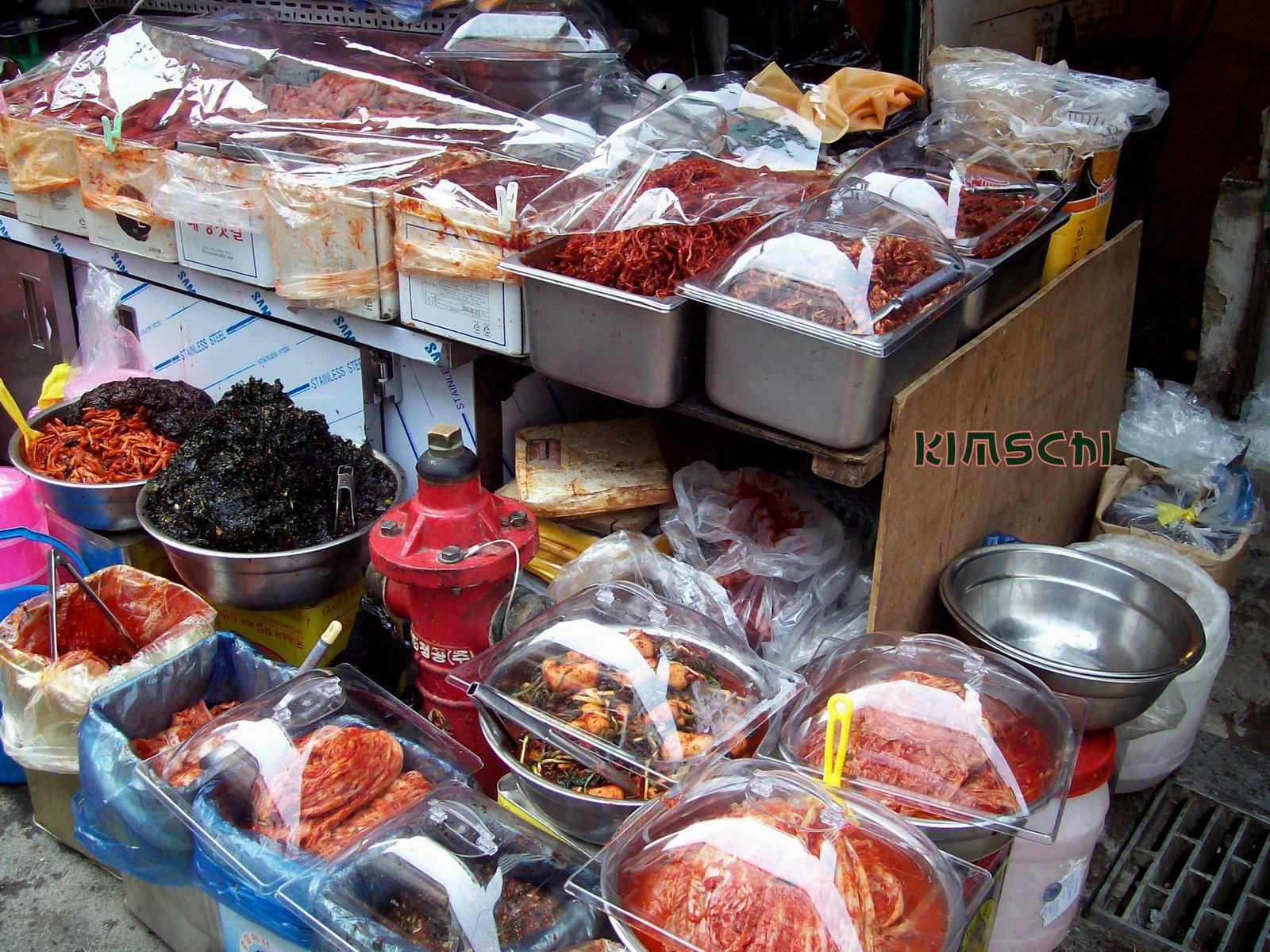 Der Namdaemun Markt - Seoul - Kimschi