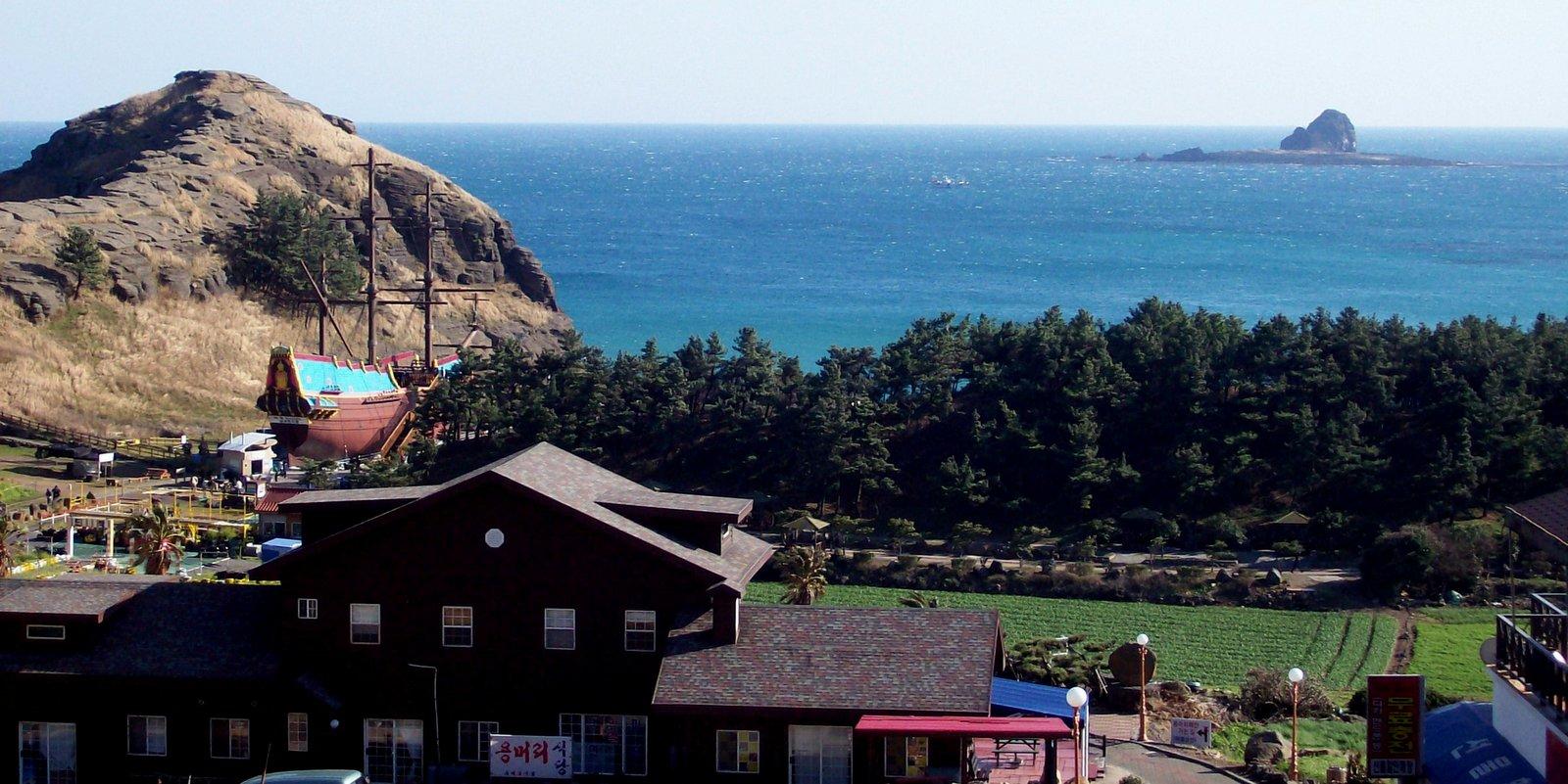 Yongmeori Küste Jeju