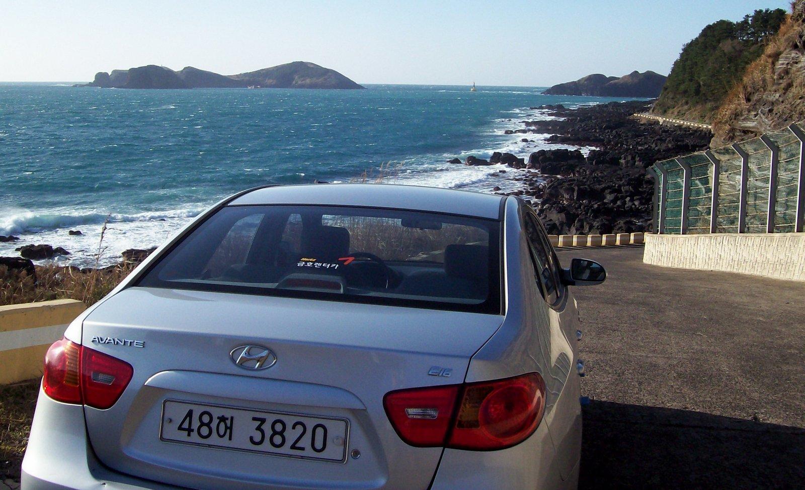 Mein Mietwagen auf Jeju