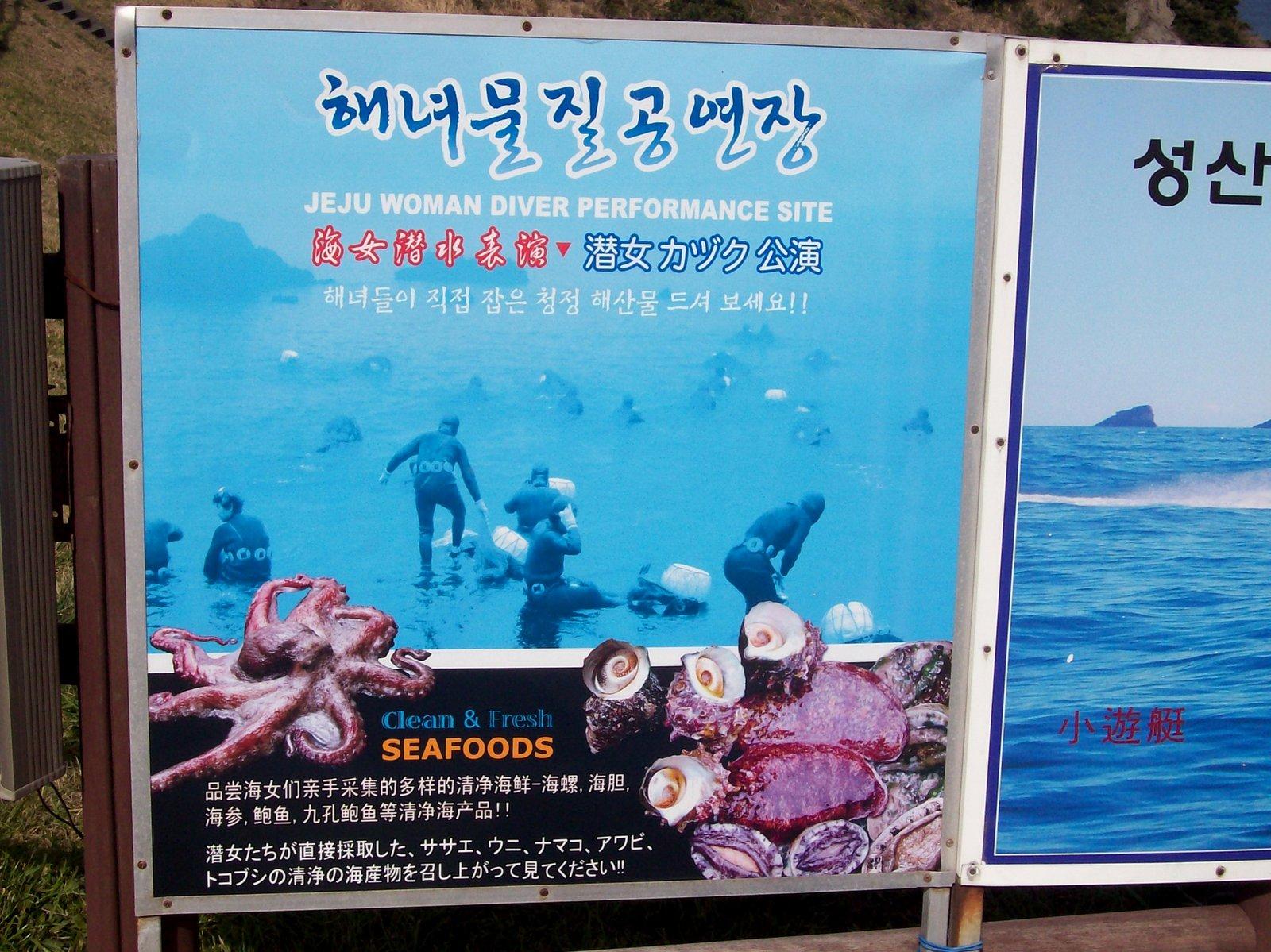 Haenyeo - Tauchspott in Seongsan-po