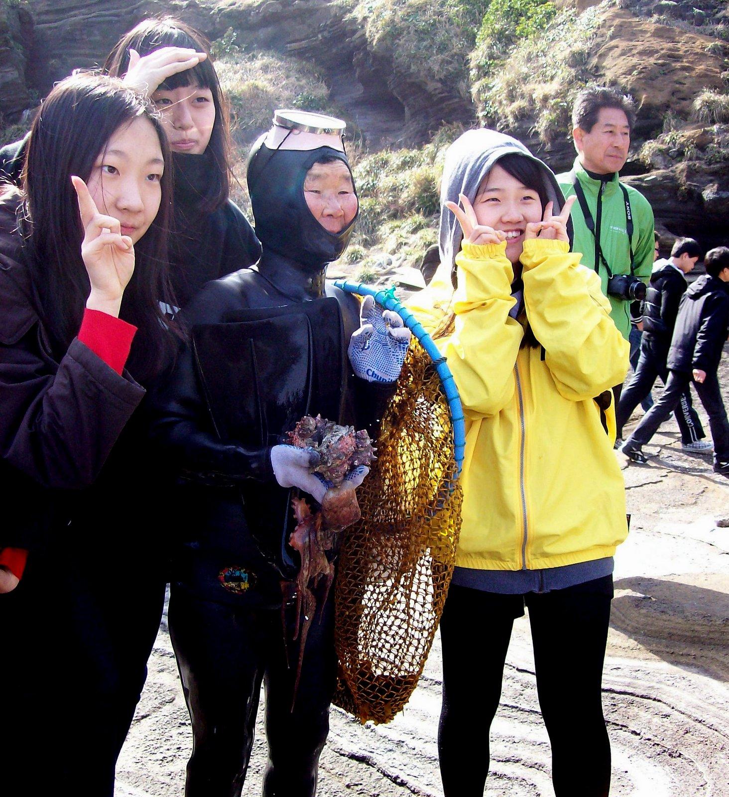 Haenyeo auf Jeju
