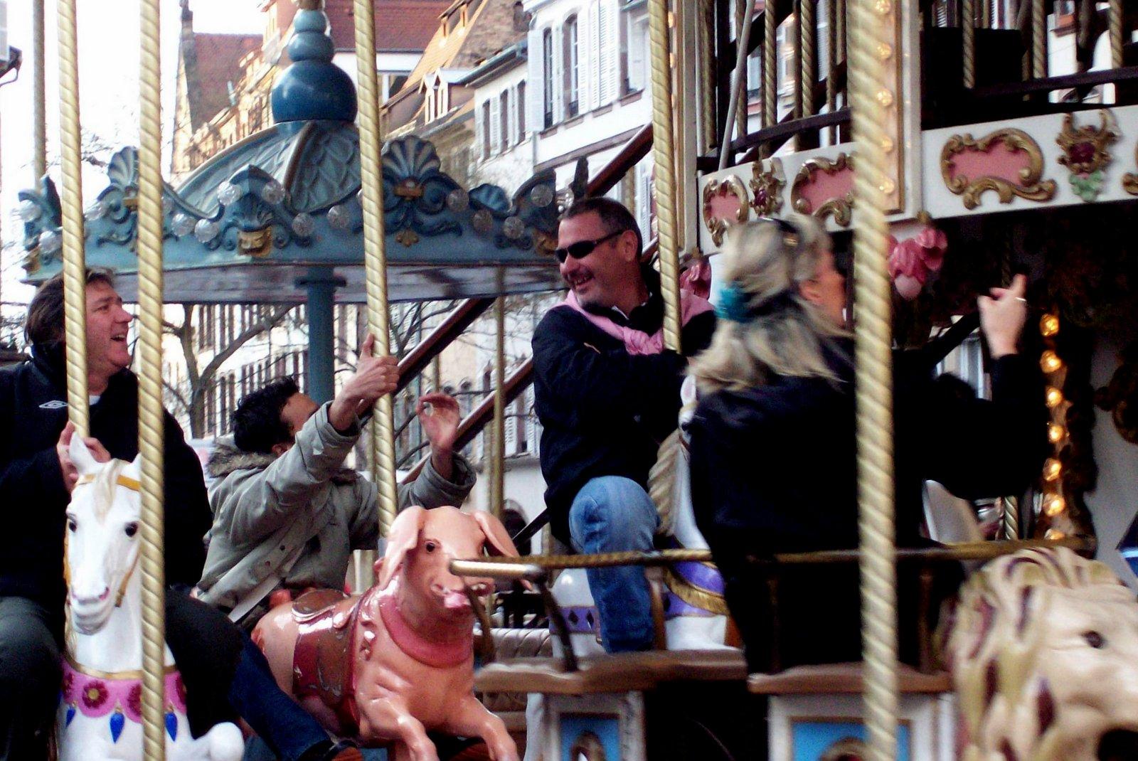 Karussell am Gutenbergplatz - Straßburg
