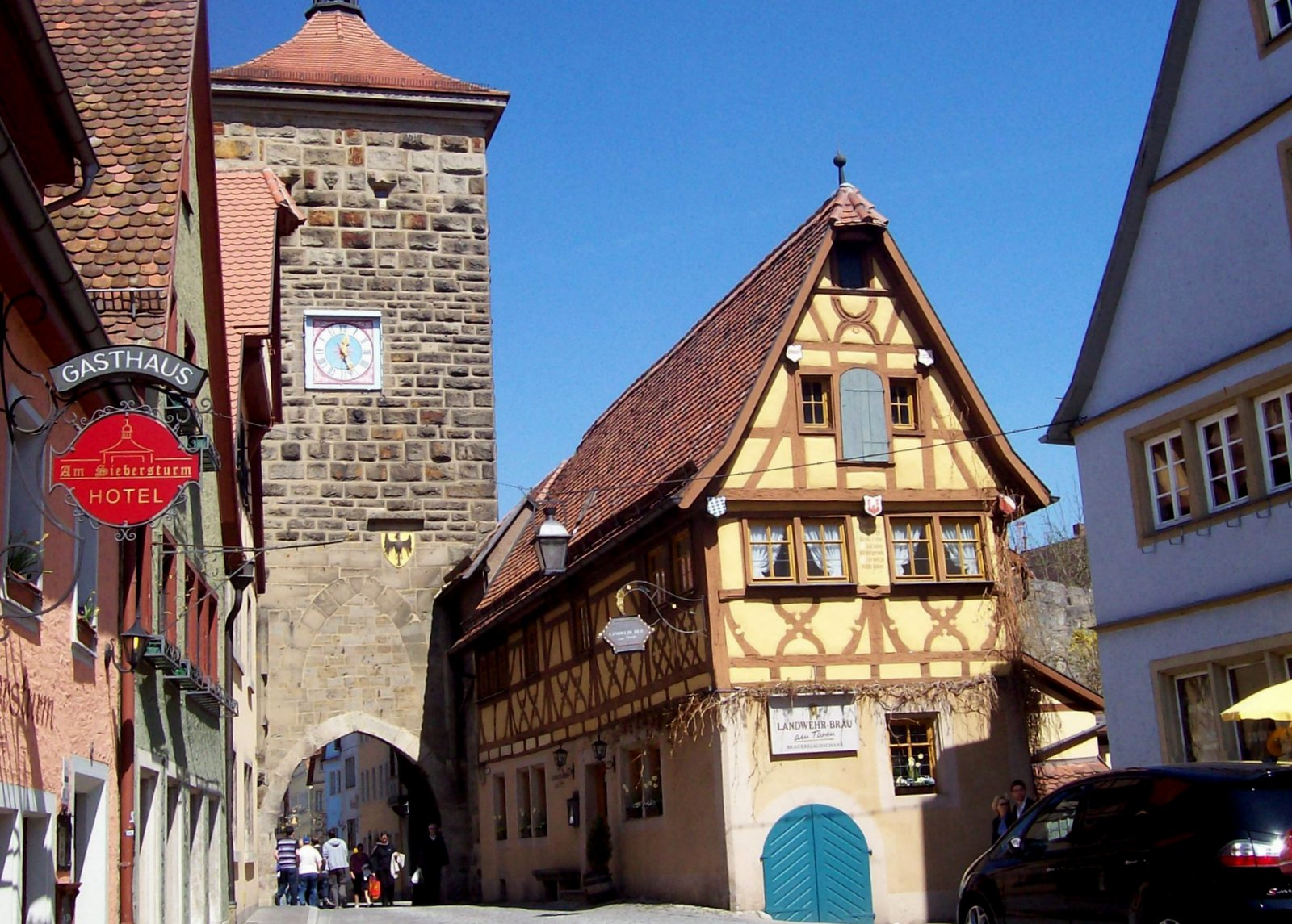 Siebersturm Rothenburg