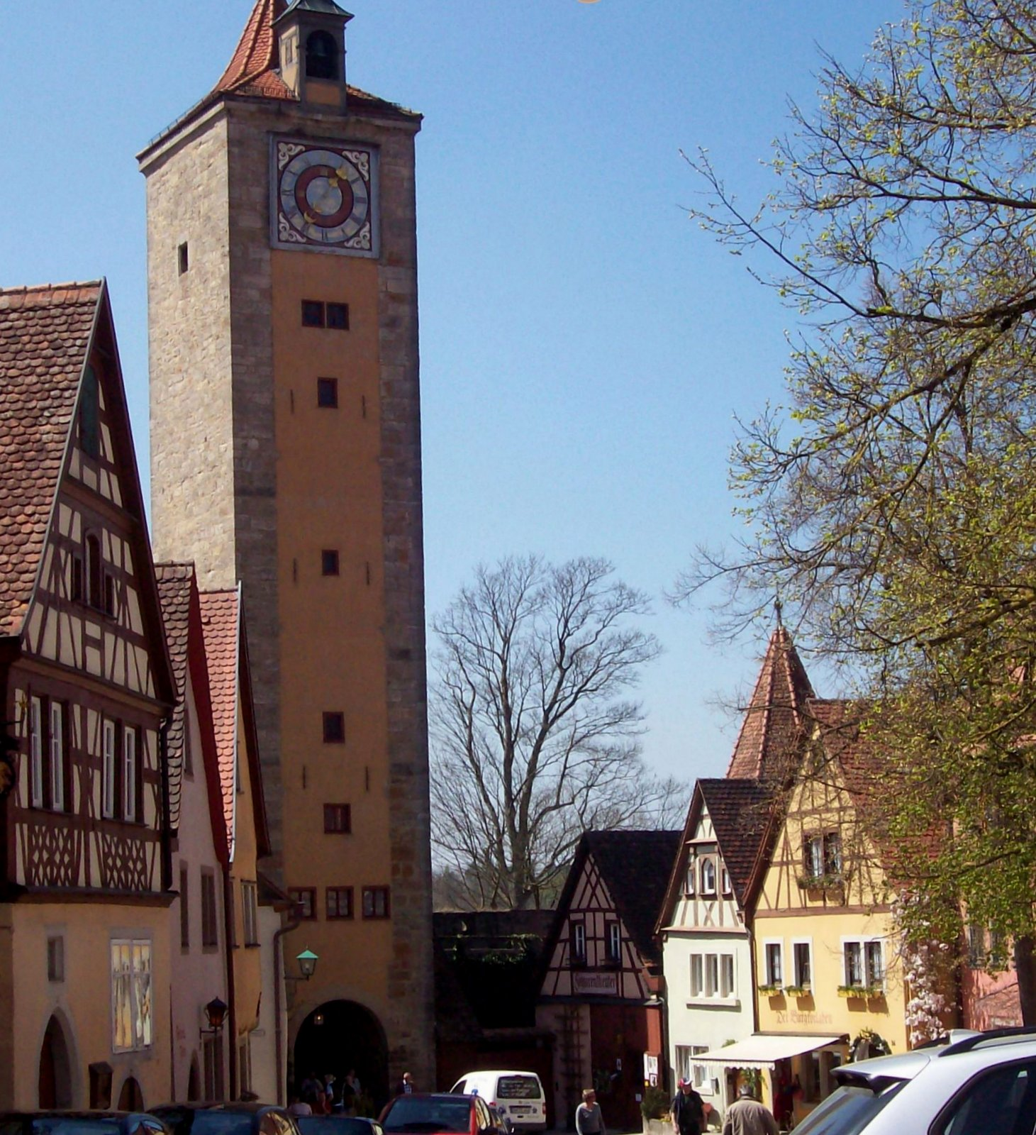Burgtor Rothenburg
