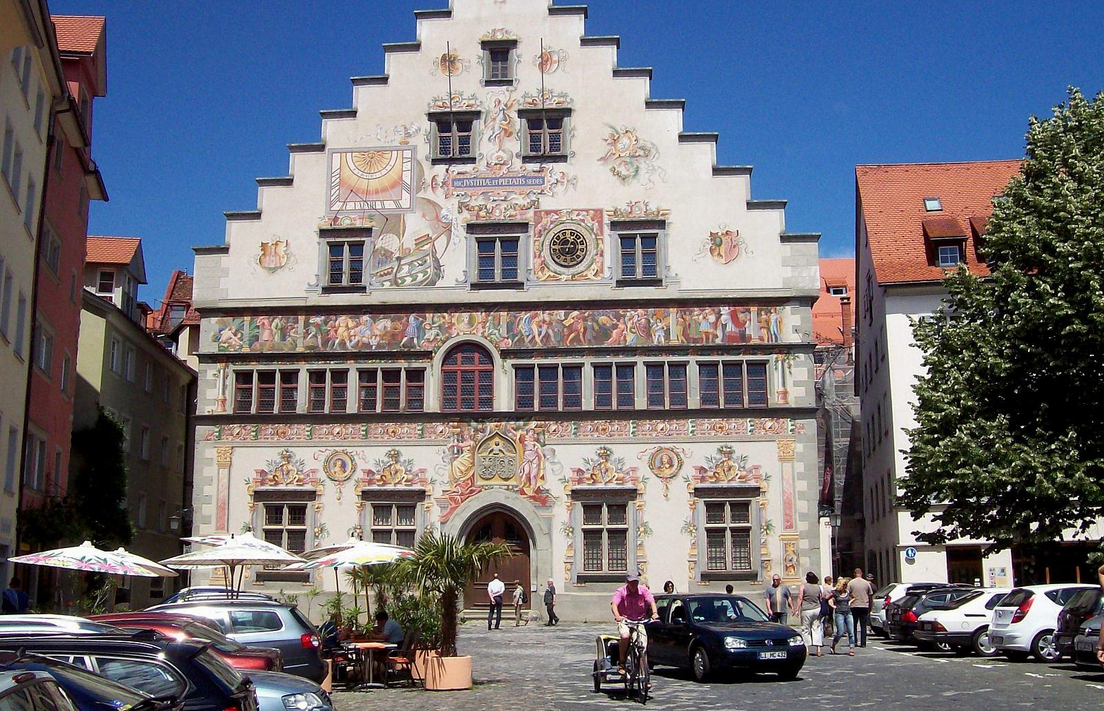 Altes Rathaus von Lindau am Bodensee